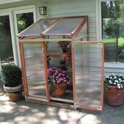 Sunshine Gardenhouse Patio GardenHouse 4 Ft W X 3 Ft D