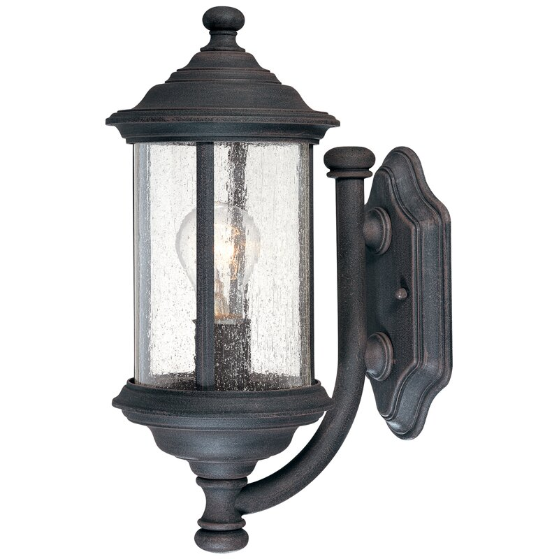 Dolan Designs Walnut Grove 1 Light Outdoor Sconce Reviews Wayfair
