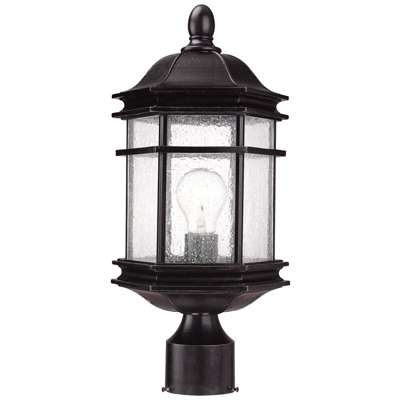 Dolan Designs Barlow 1 Light Outdoor Post Light Reviews Wayfair