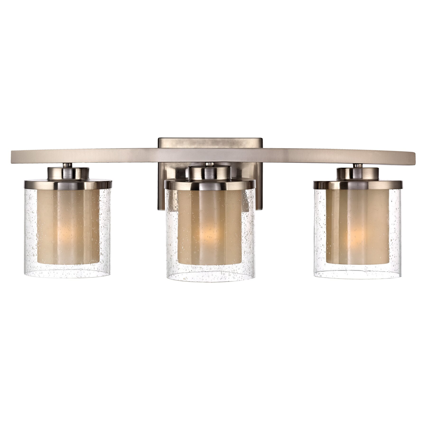 Three Light Bathroom Vanity Light: Dolan Designs Horizon 3 Light Bath Vanity Light & Reviews