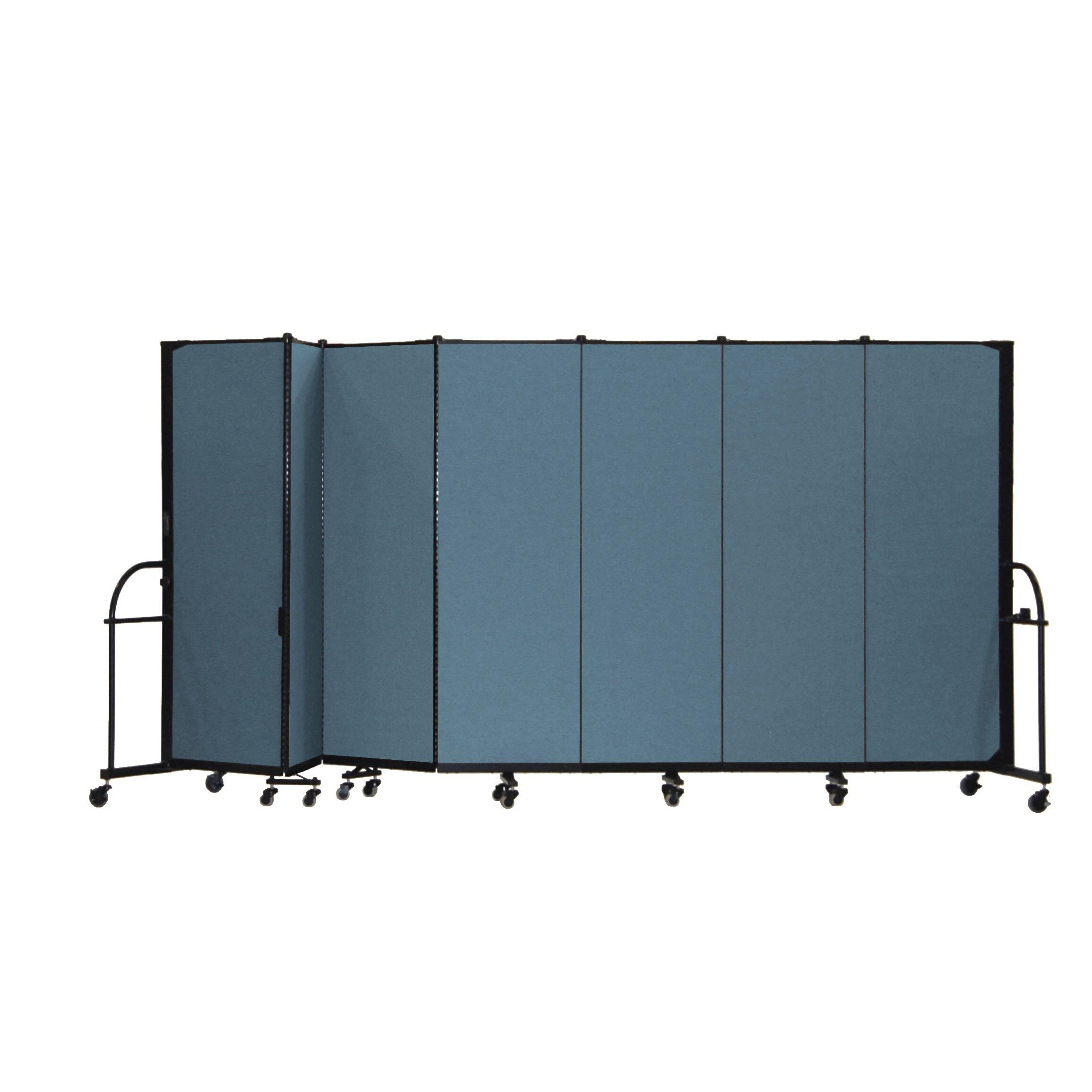 Heavy Duty Seven Panel Portable Room Divider Wayfair Supply
