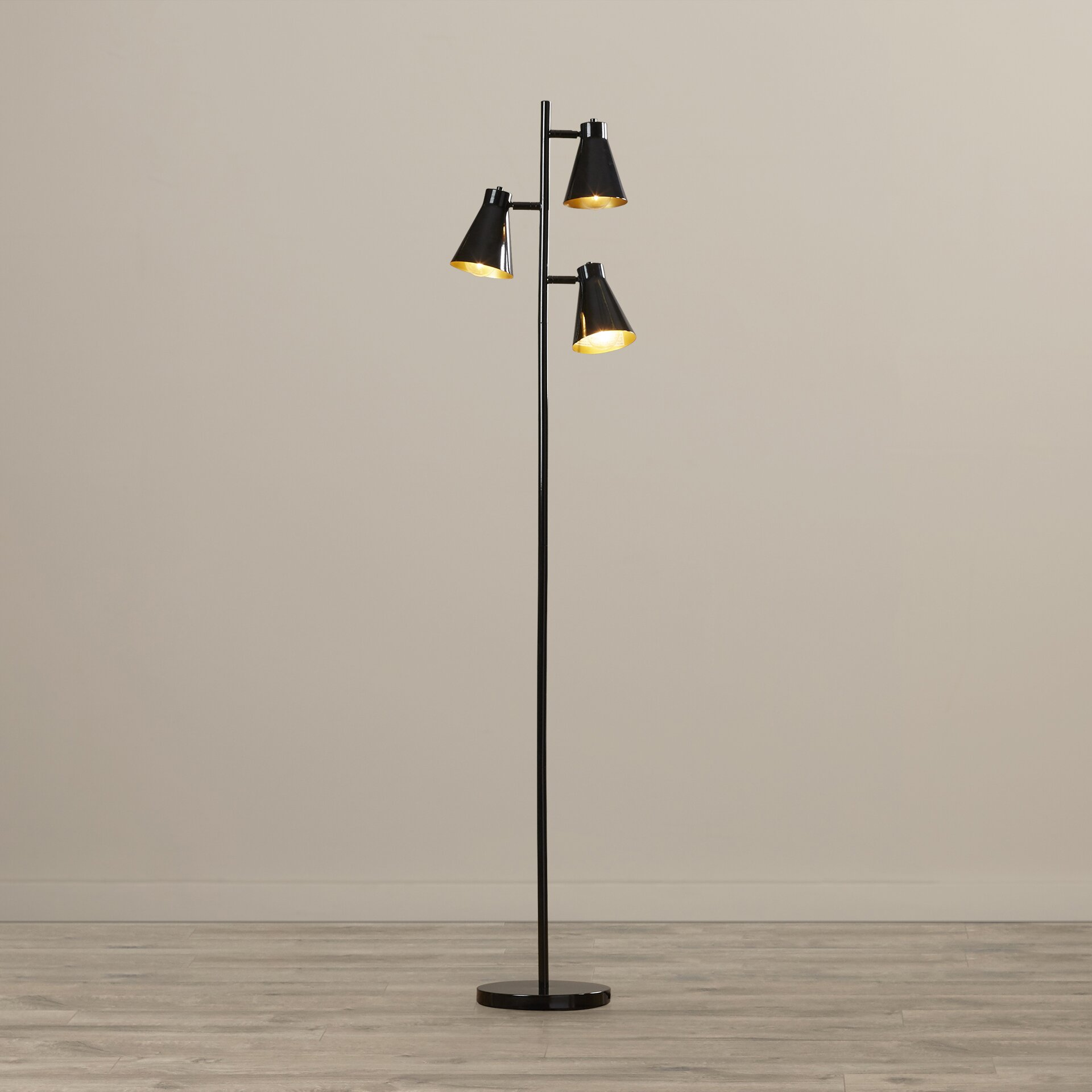 lighting lamps floor lamps langley street sku lgly2253. Black Bedroom Furniture Sets. Home Design Ideas