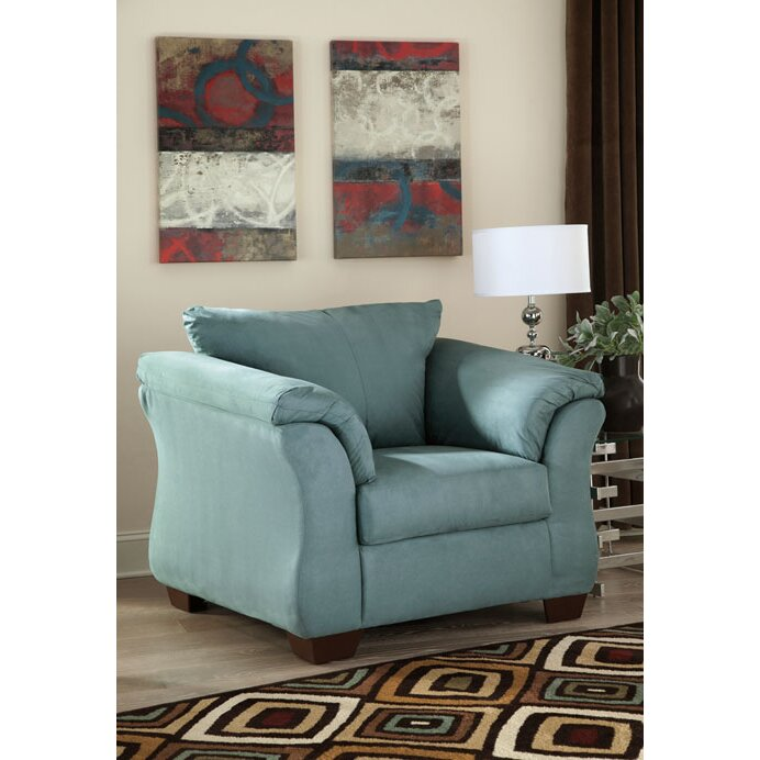 Ashley Furniture Darcy Sage Chair: Signature Design By Ashley Darcy Arm Chair & Reviews