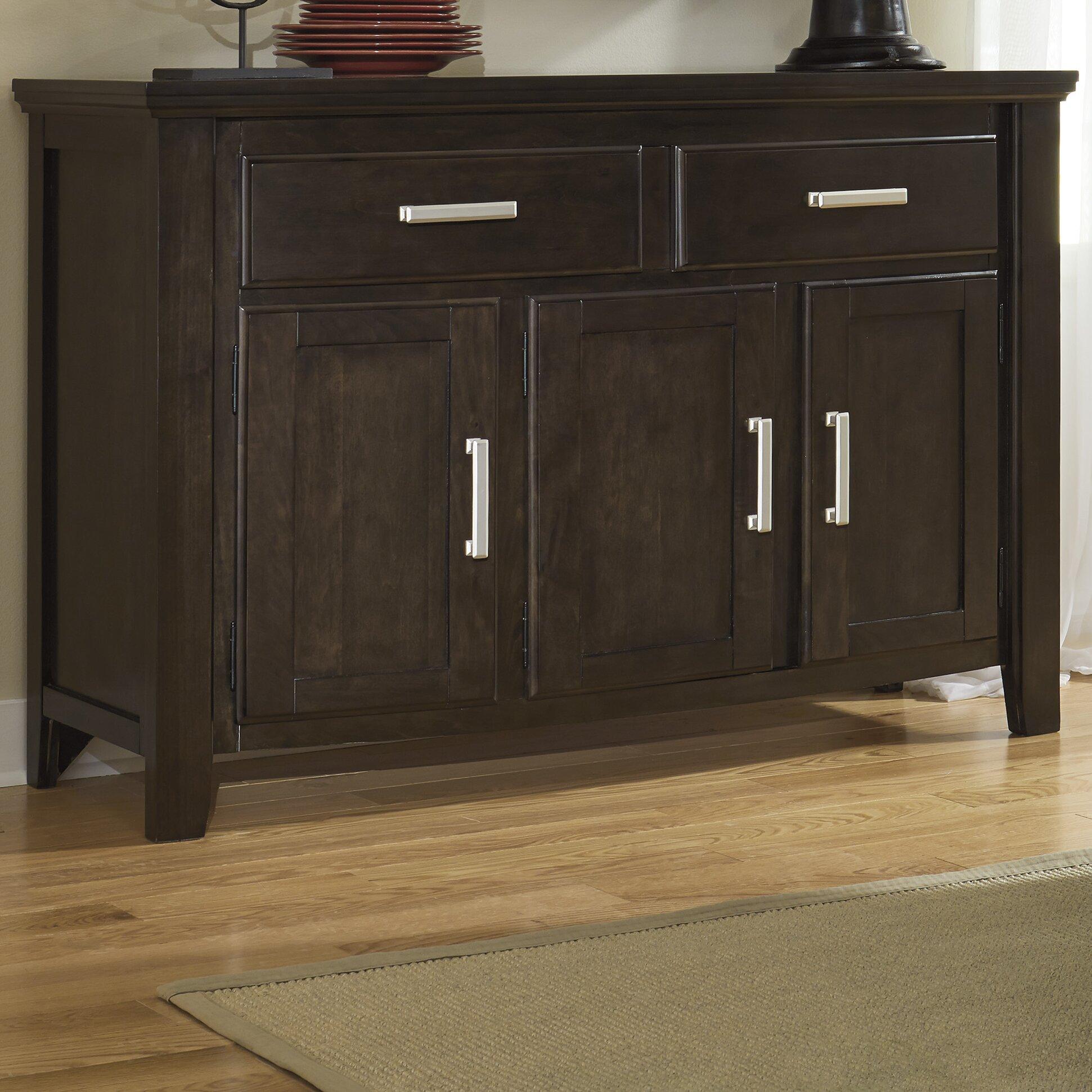 Signature Design By Ashley Lanquist Dining Room Sideboard Reviews Wayfair