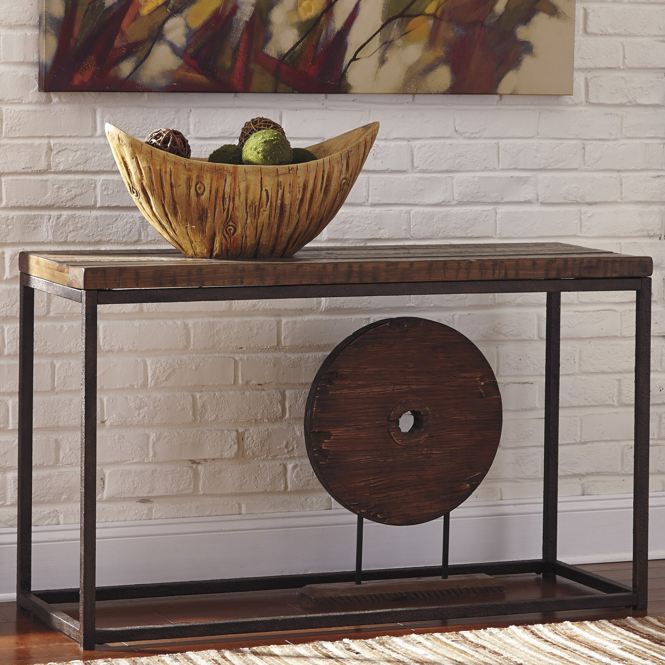 Signature Design By Ashley Farriner Console Table