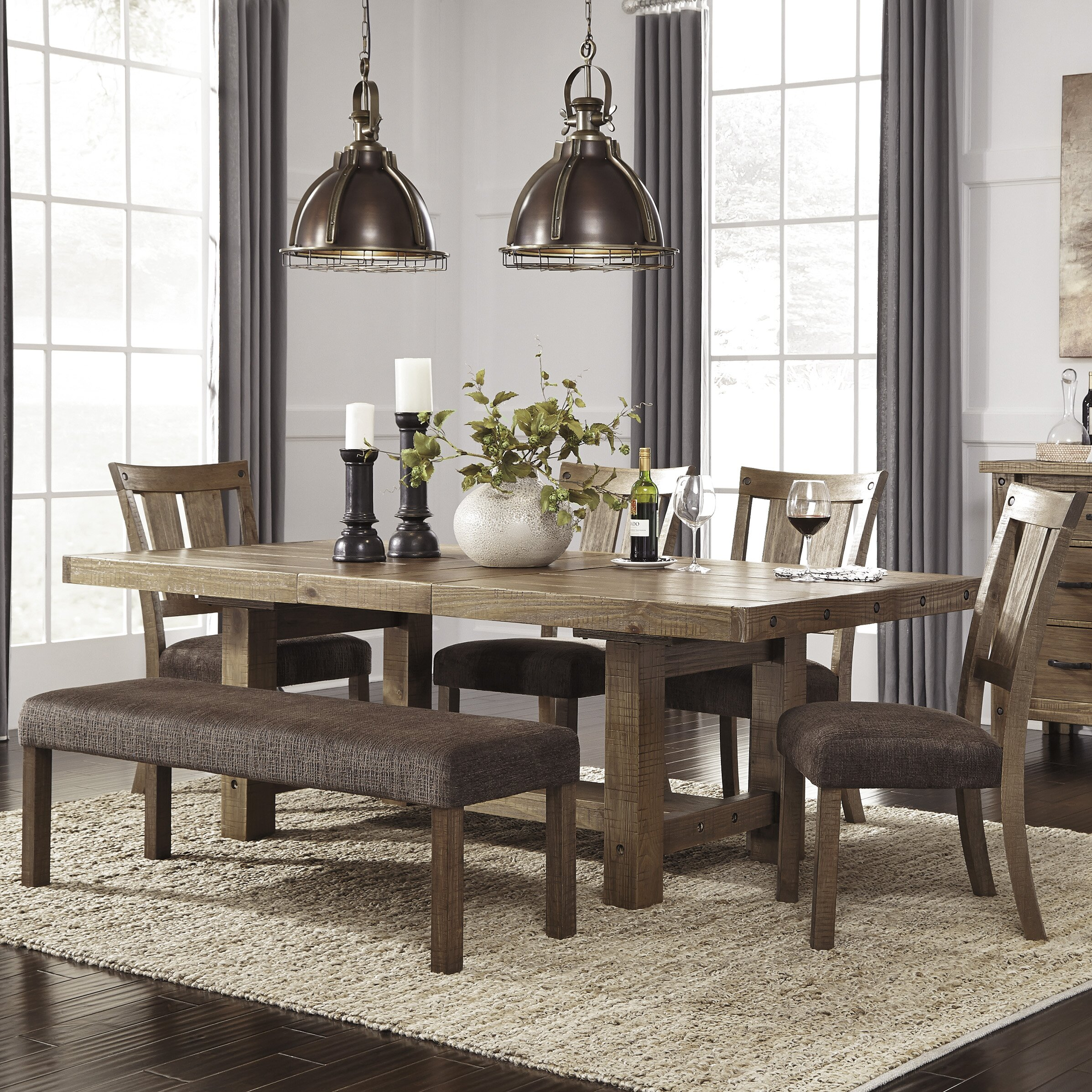 signature design by ashley 6 piece dining set reviews