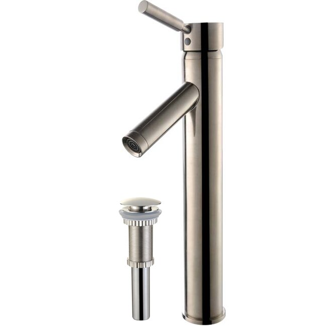 Kraus Bathroom Faucets : Kraus Sheven Single Hole Bathroom Faucet with Single Handle & Reviews ...