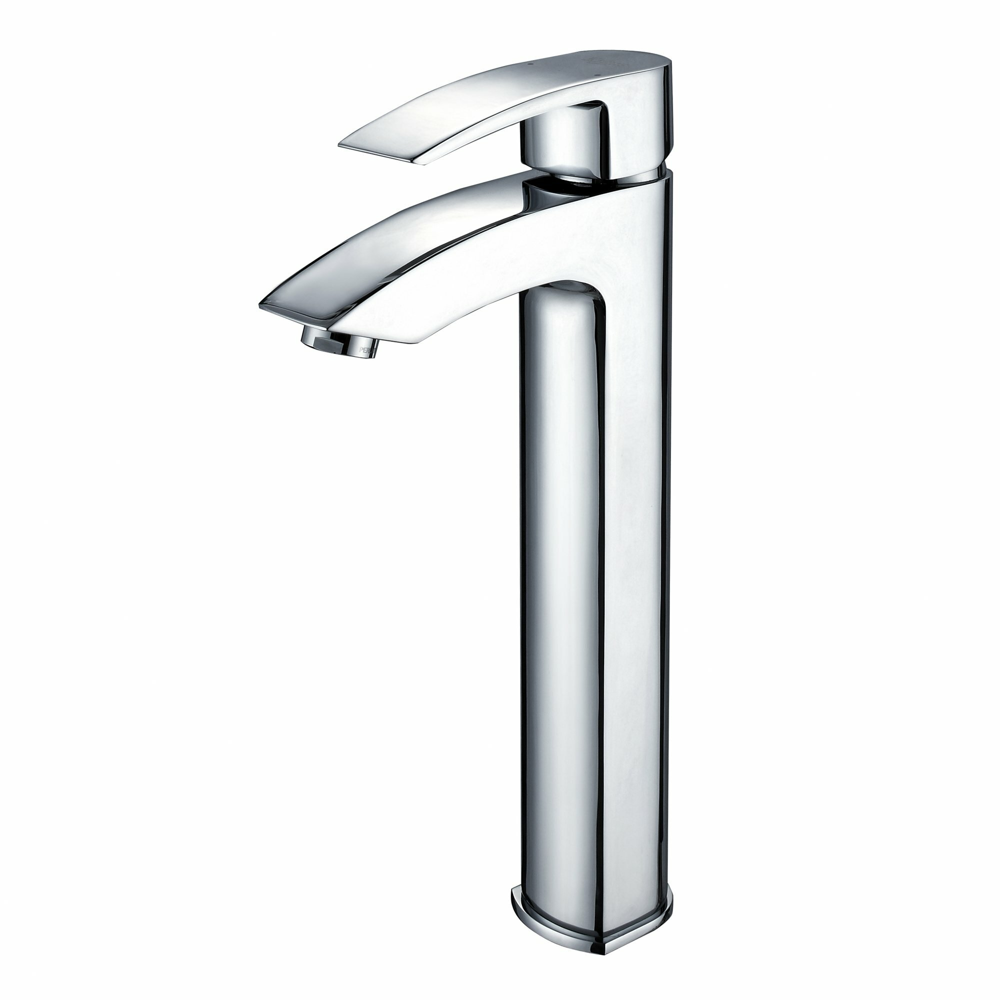 Kraus Crystal Clear Glass Vessel Sink and Visio Faucet & Reviews ...