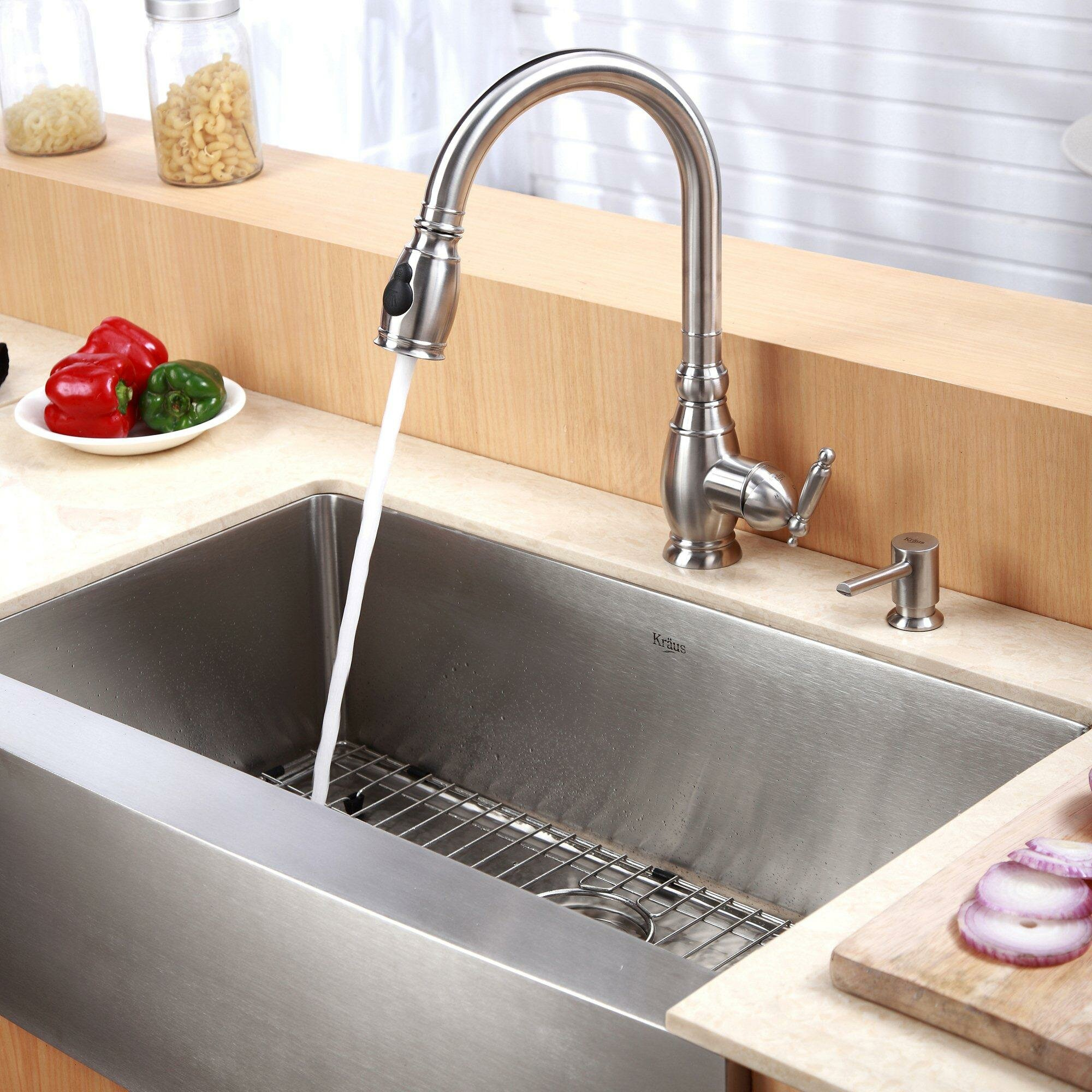 20 Farmhouse Sink : Kraus 29.75