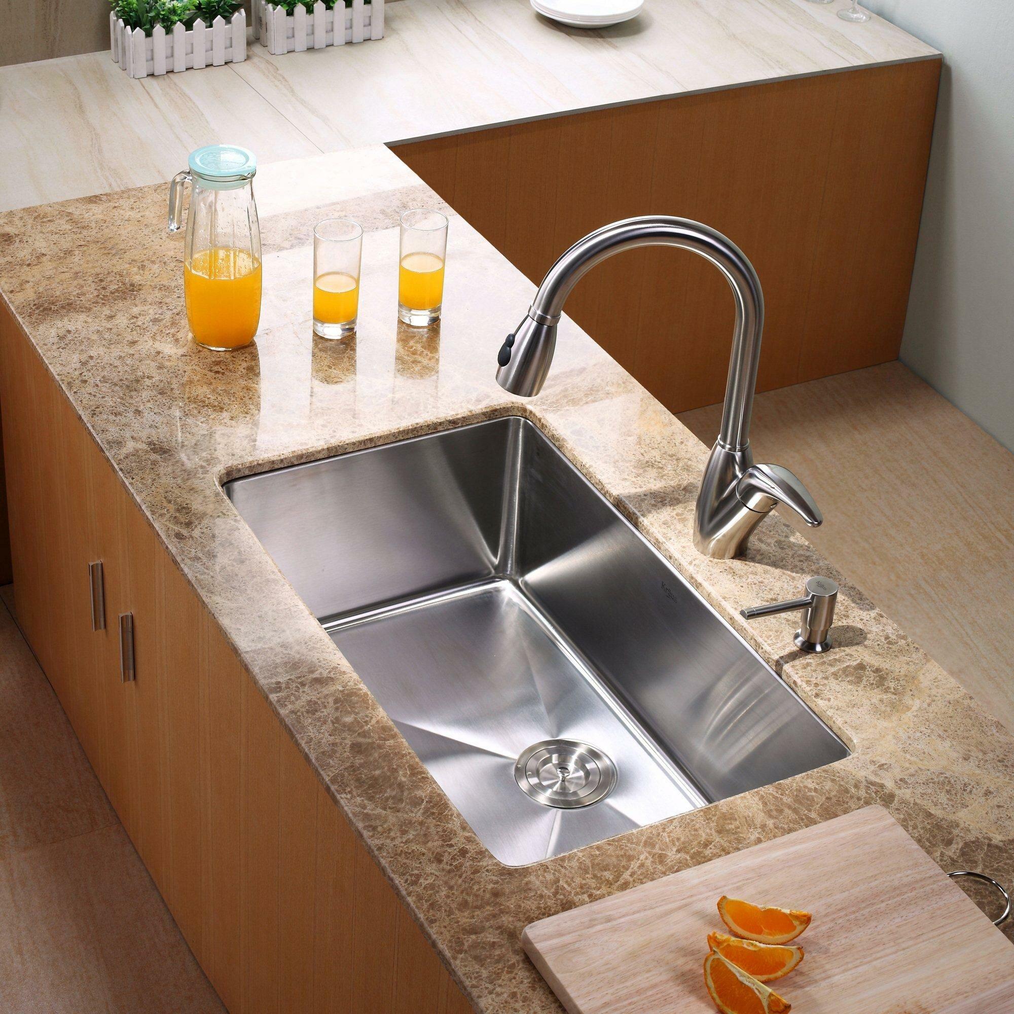Kitchen Sink 30 : Kraus 30