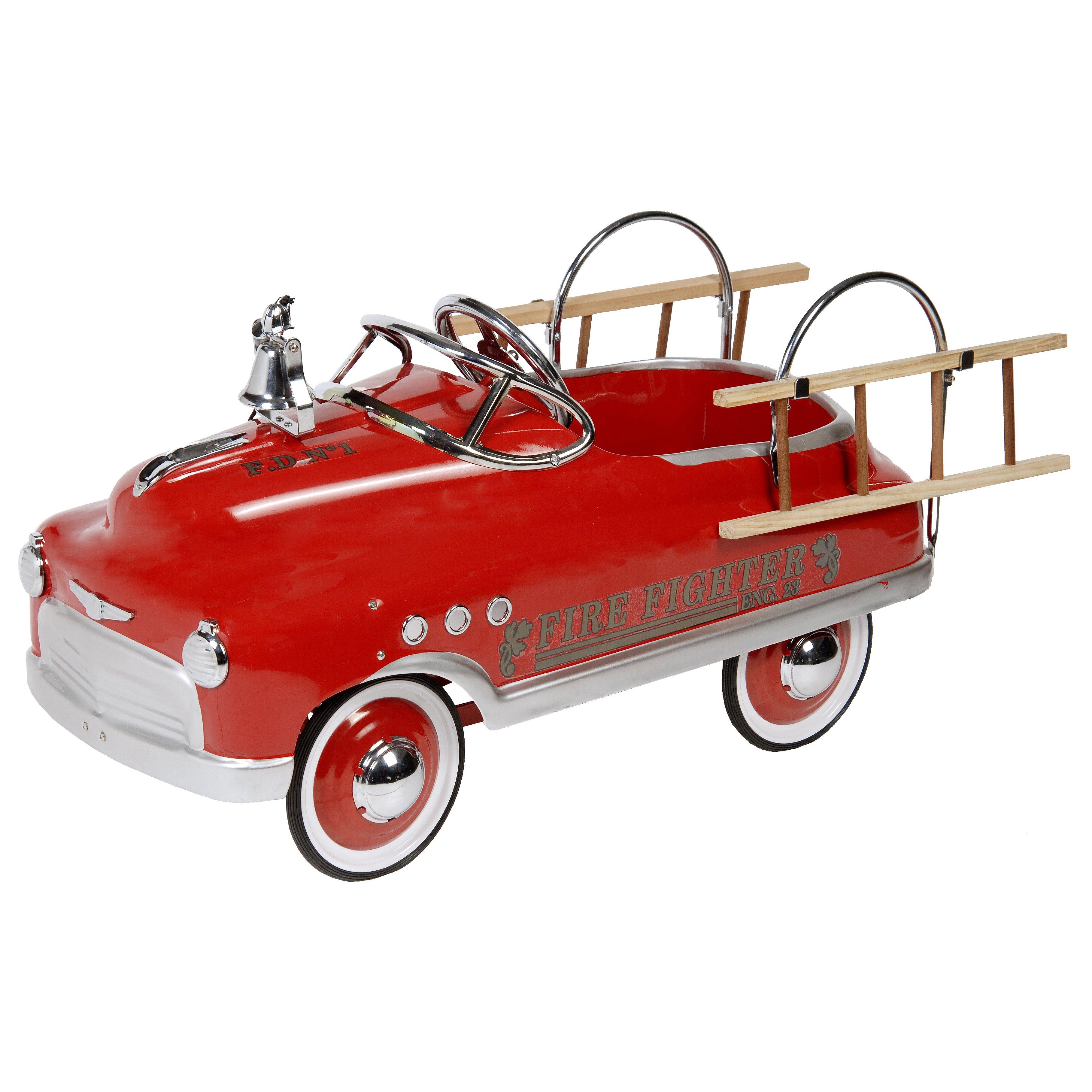 Fire Fighter Comet Sedan Car Wayfair