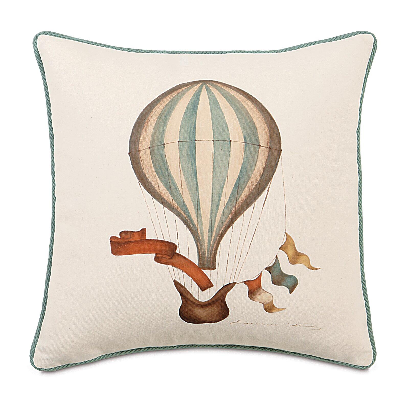 Kai hand painted balloon cord throw pillow wayfair for Hand painted pillows