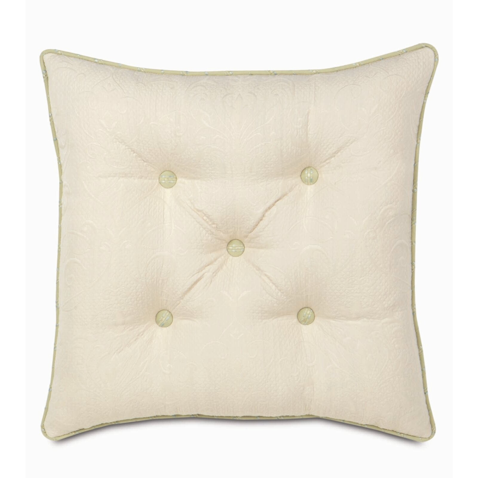 Face Painting Southport Eastern Accents Southport Polyester Jacqueline Tufted Decorative Pillow