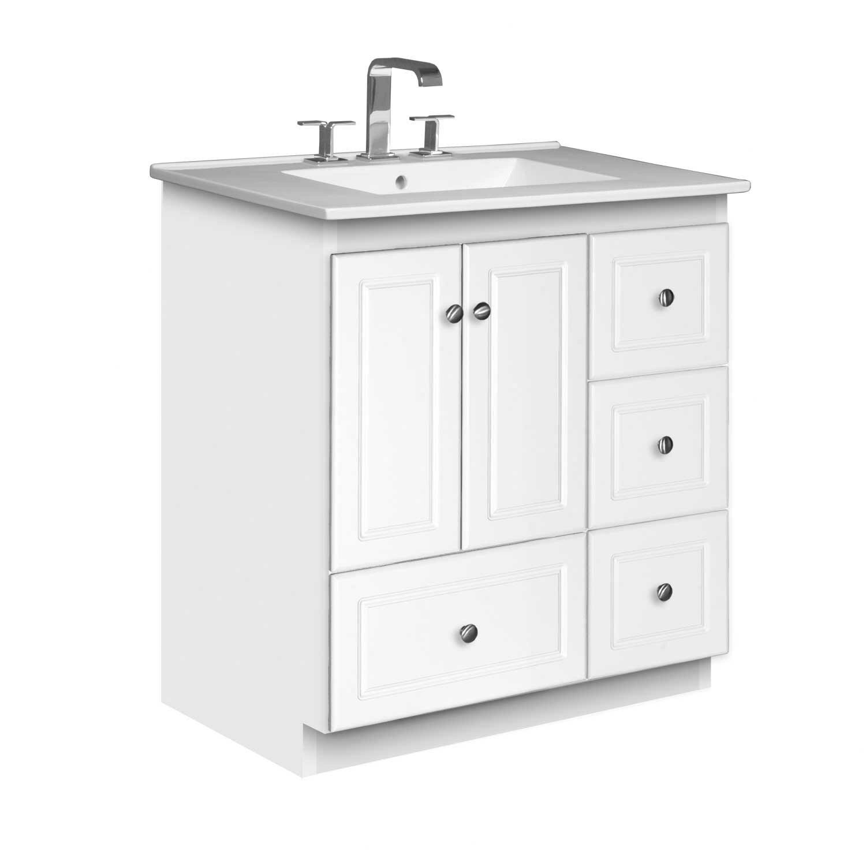 strasser woodenworks simplicity 31 quot single bathroom vanity