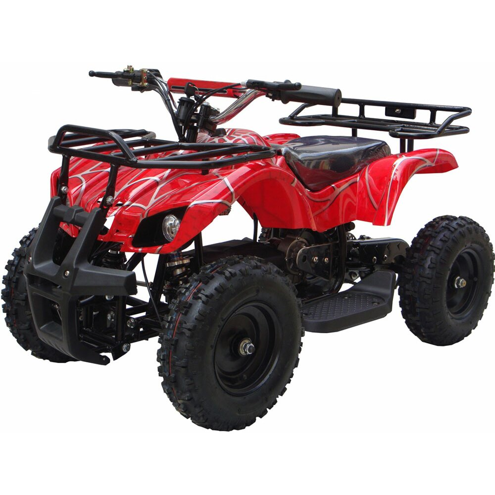 big toys mototec 24v mini quad v4 wagons atv reviews wayfair. Black Bedroom Furniture Sets. Home Design Ideas