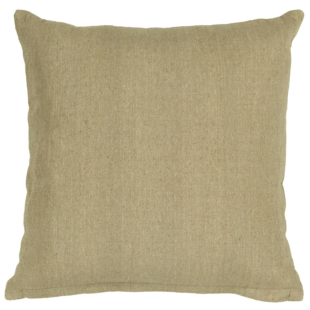 Throw Pillows Textured : Textured Contemporary Tussar Silk Throw Pillow Wayfair