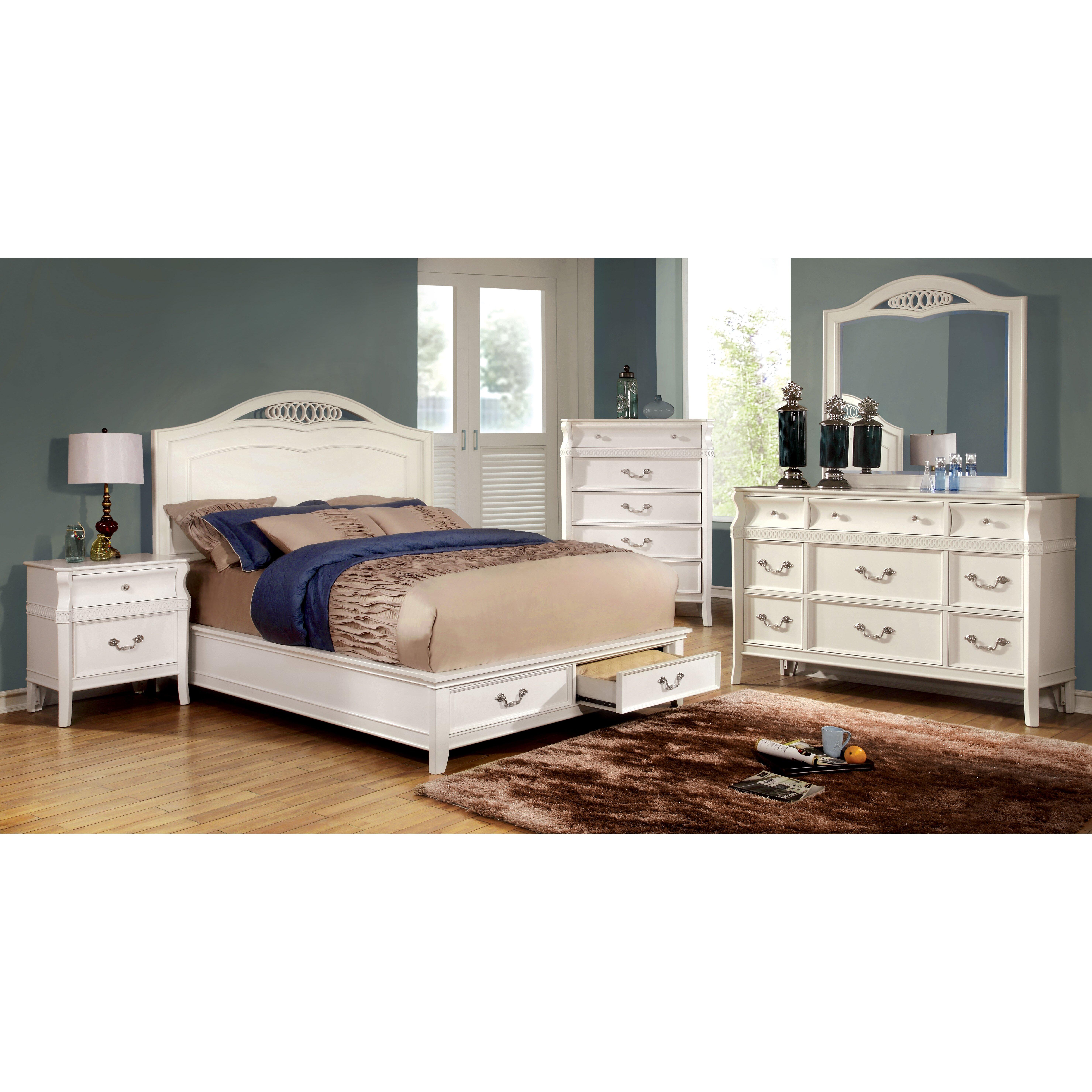 Harlow storage platform bed wayfair for Harlowe bed