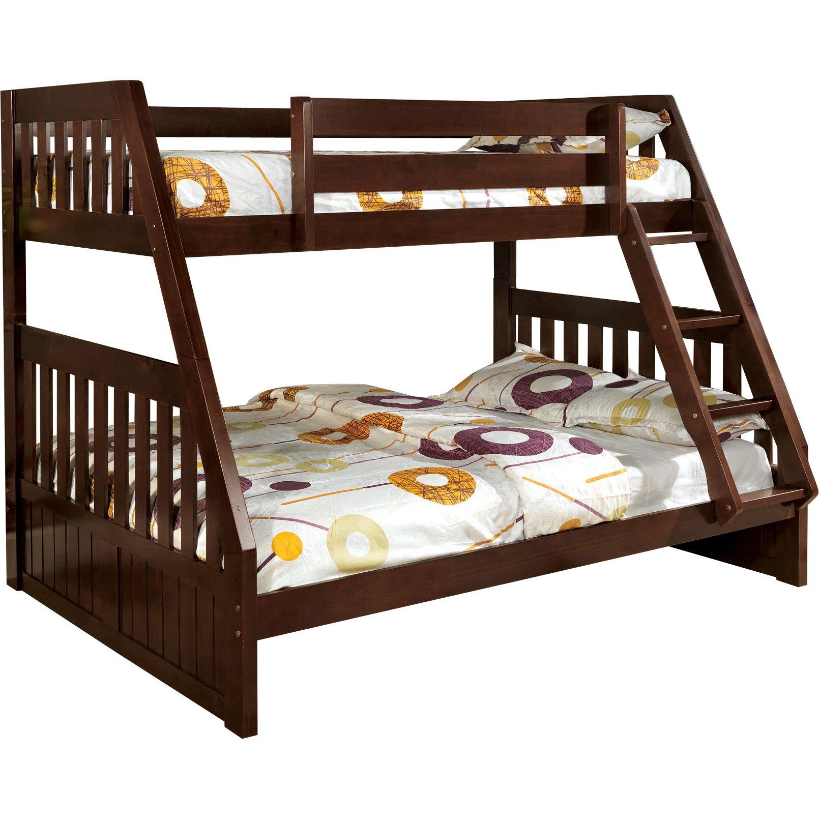 Hokku Designs Logan Twin Over Full Bunk Bed & Reviews