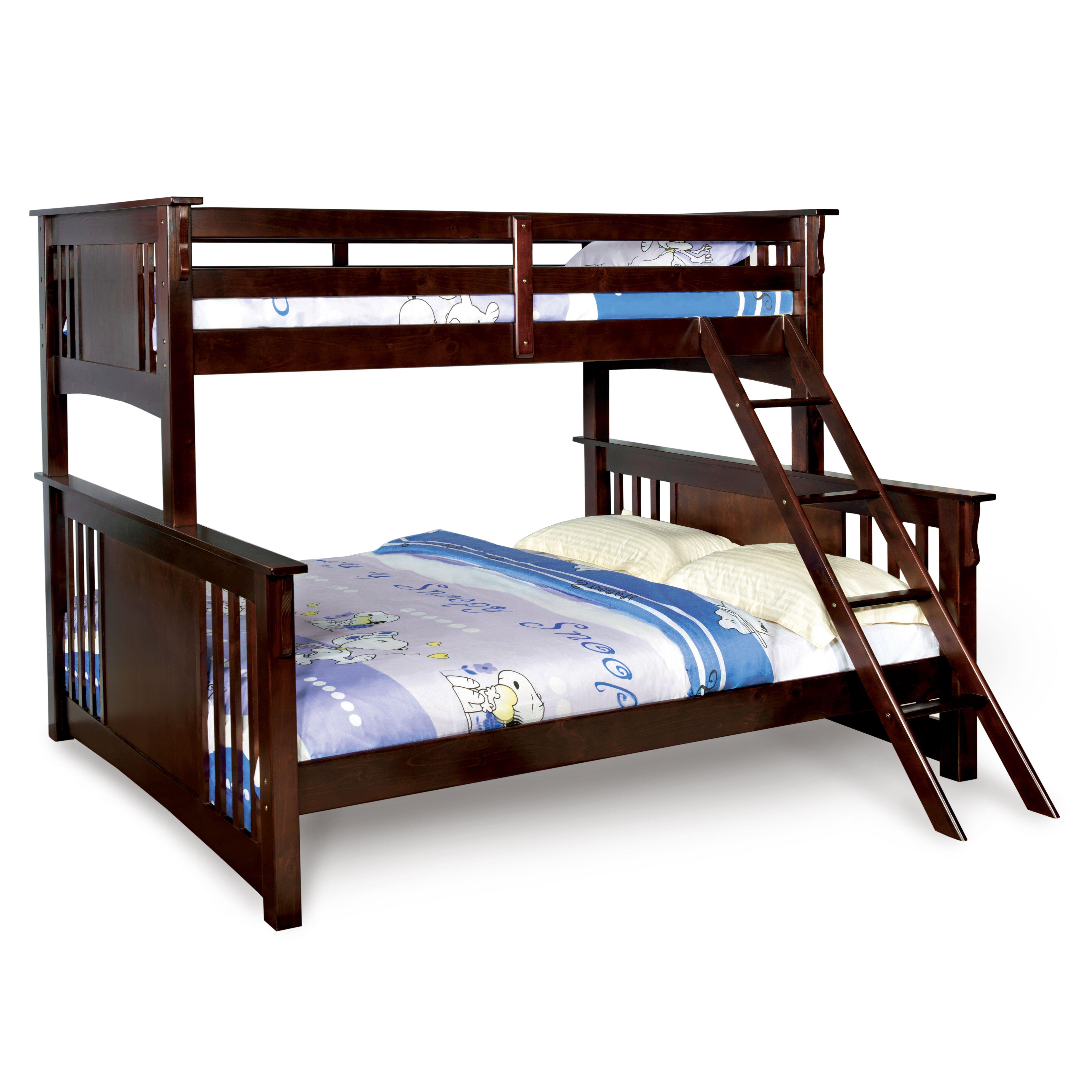 Hokku Designs Kameron Twin over Full Bunk Bed & Reviews