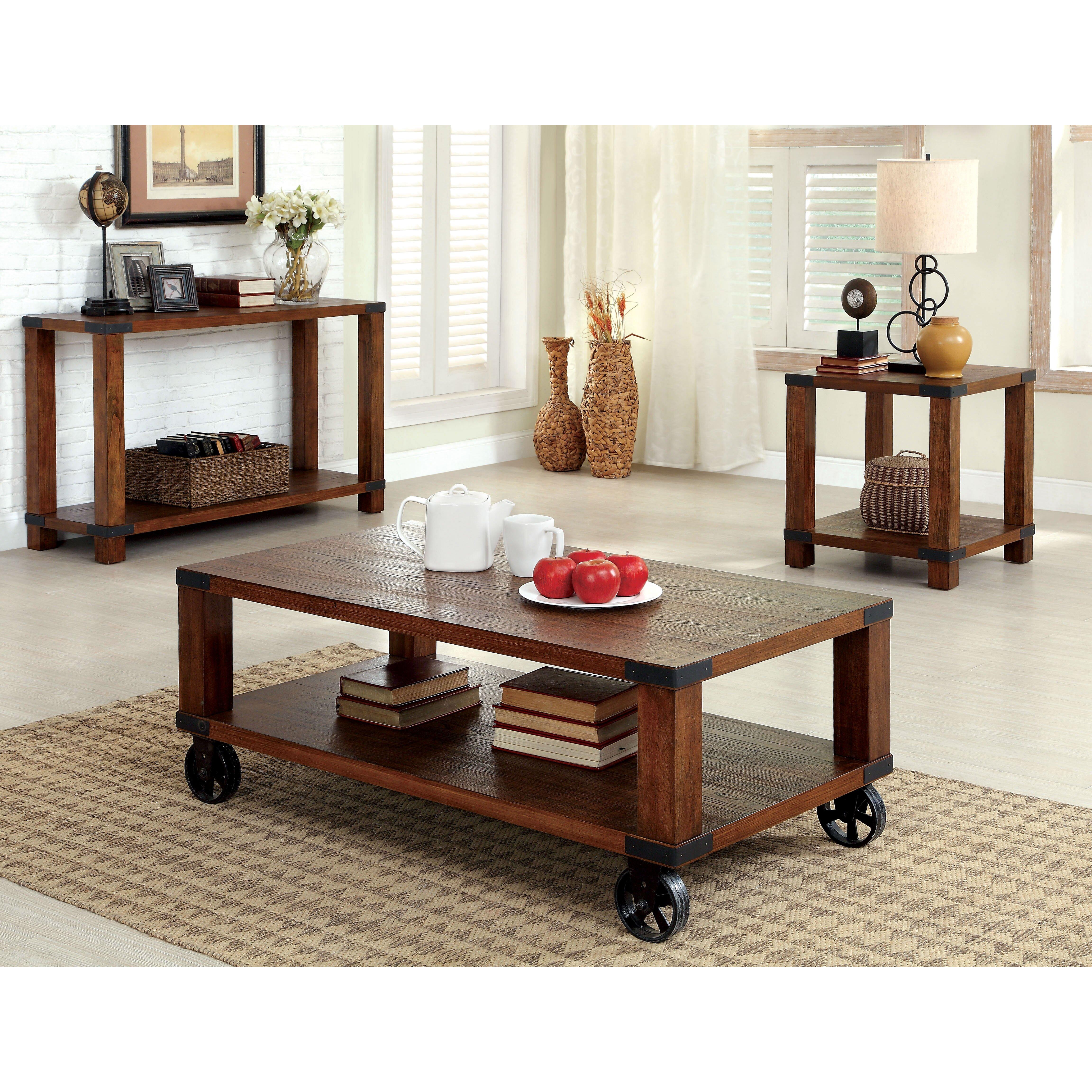hokku designs starke coffee table amp reviews wayfair wood duck