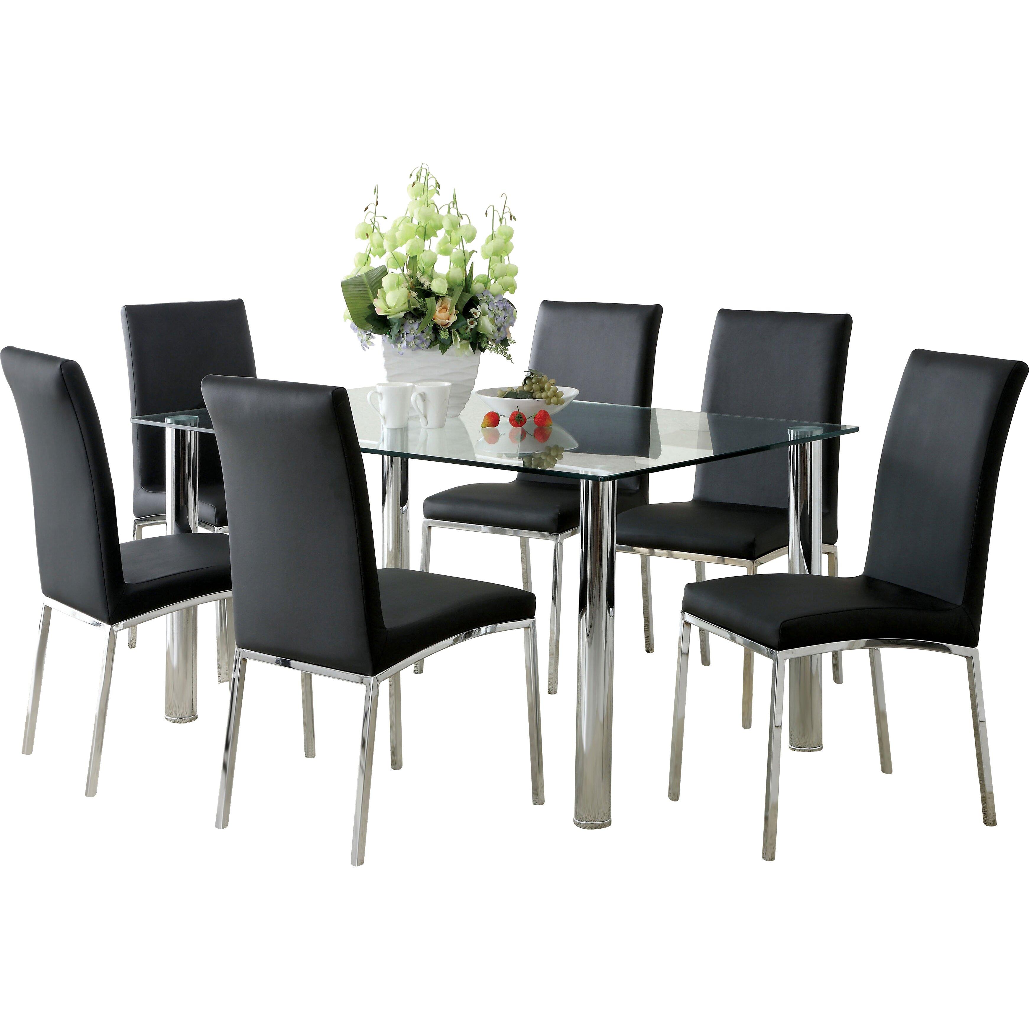 hokku designs grant 7 piece dining set image