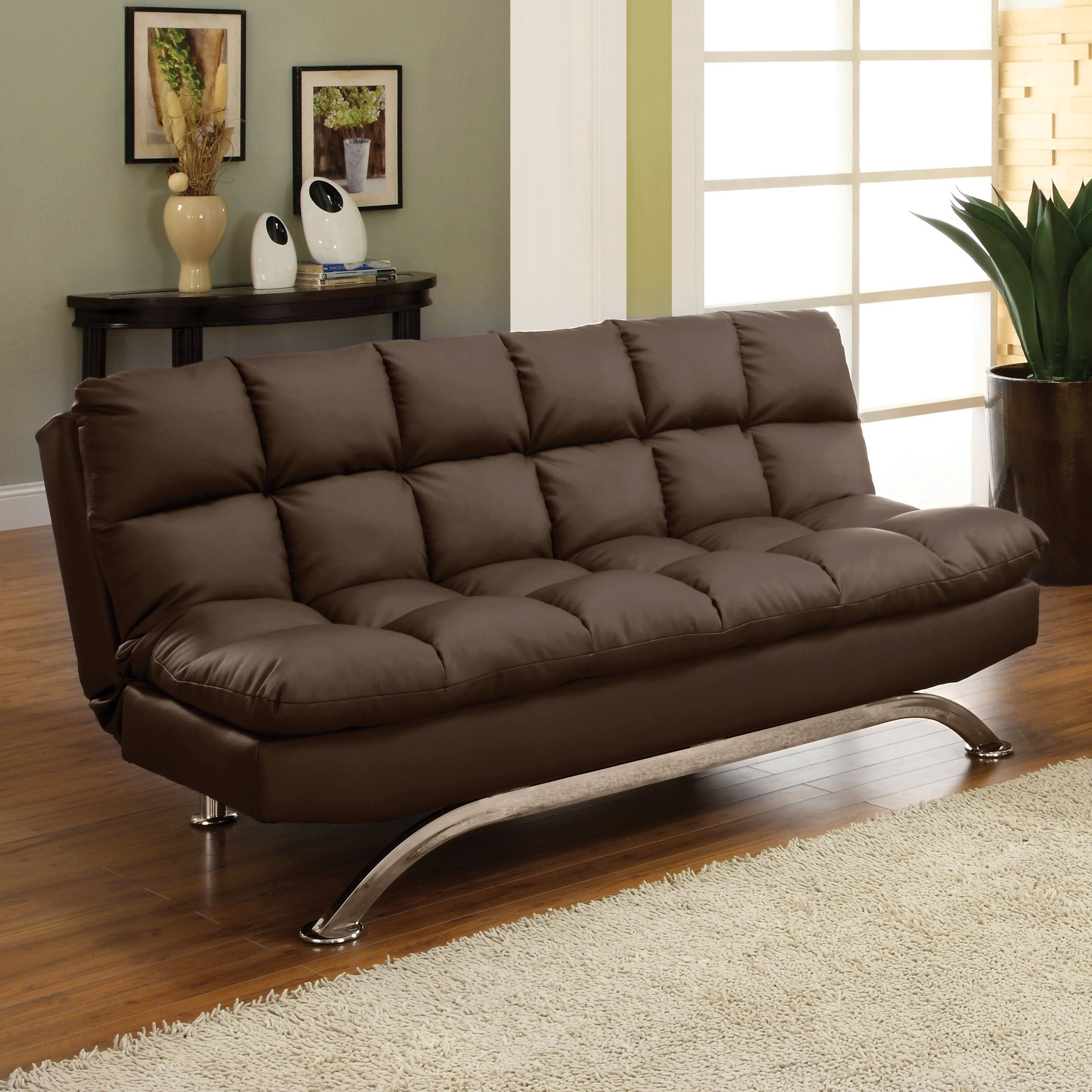 Hokku Designs Aristo Convertible Sofa & Reviews