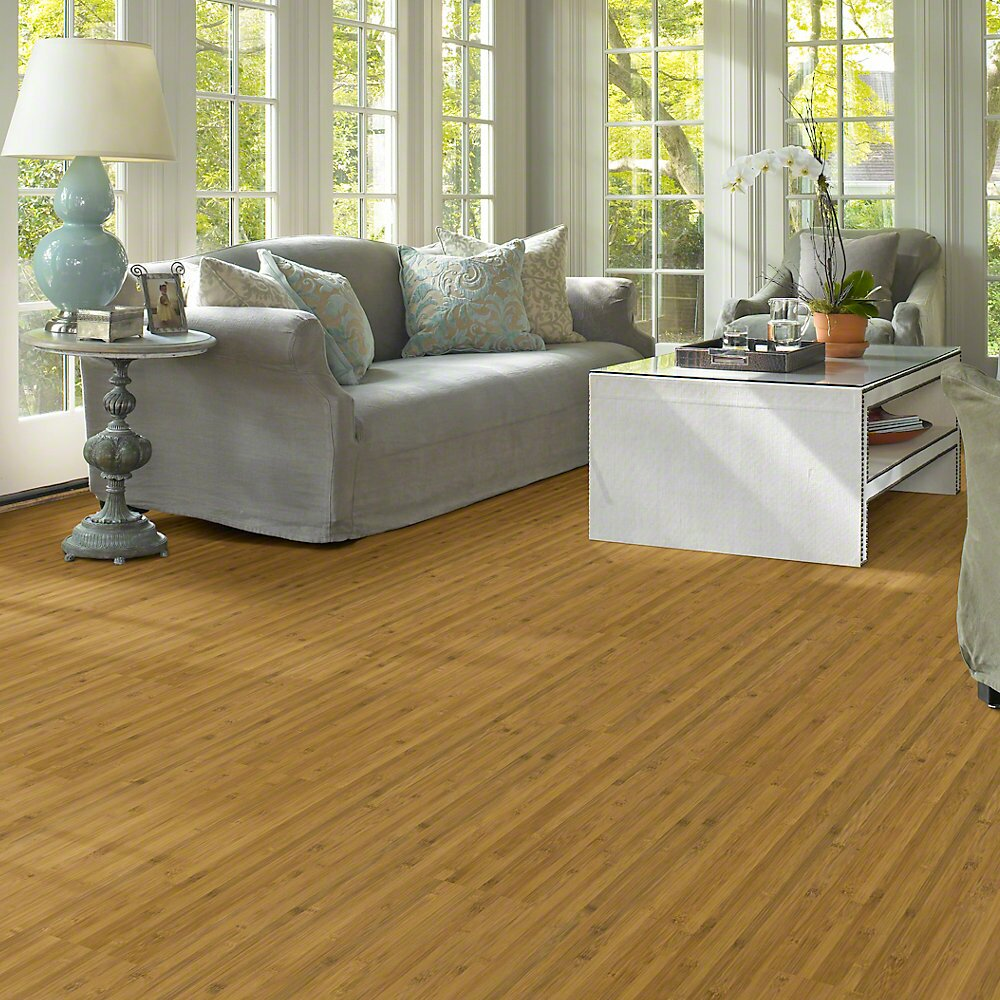"Shaw Floors Natural Impact II 8"" X 48"" X 7.94mm Bamboo"