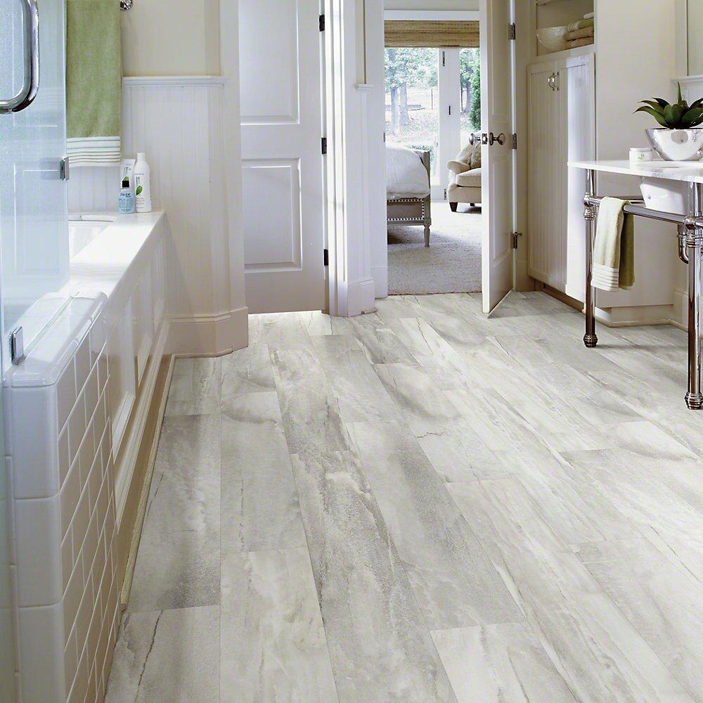 Casa moderna light grey oak xl luxury vinyl plank 9in x for Casa moderna flooring
