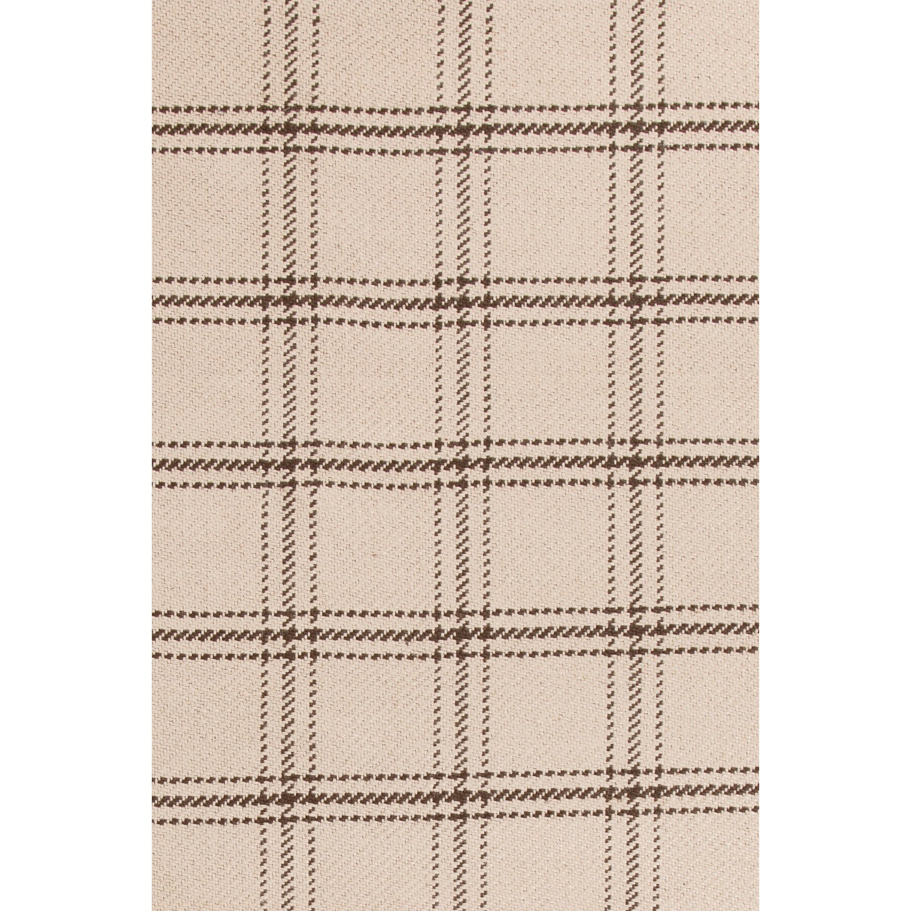 Plaid Rug: Bunny Williams Cooper Oak Plaid Rug & Reviews
