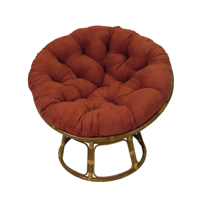 blazing needles papasan lounge chair cushion reviews wayfair. Black Bedroom Furniture Sets. Home Design Ideas