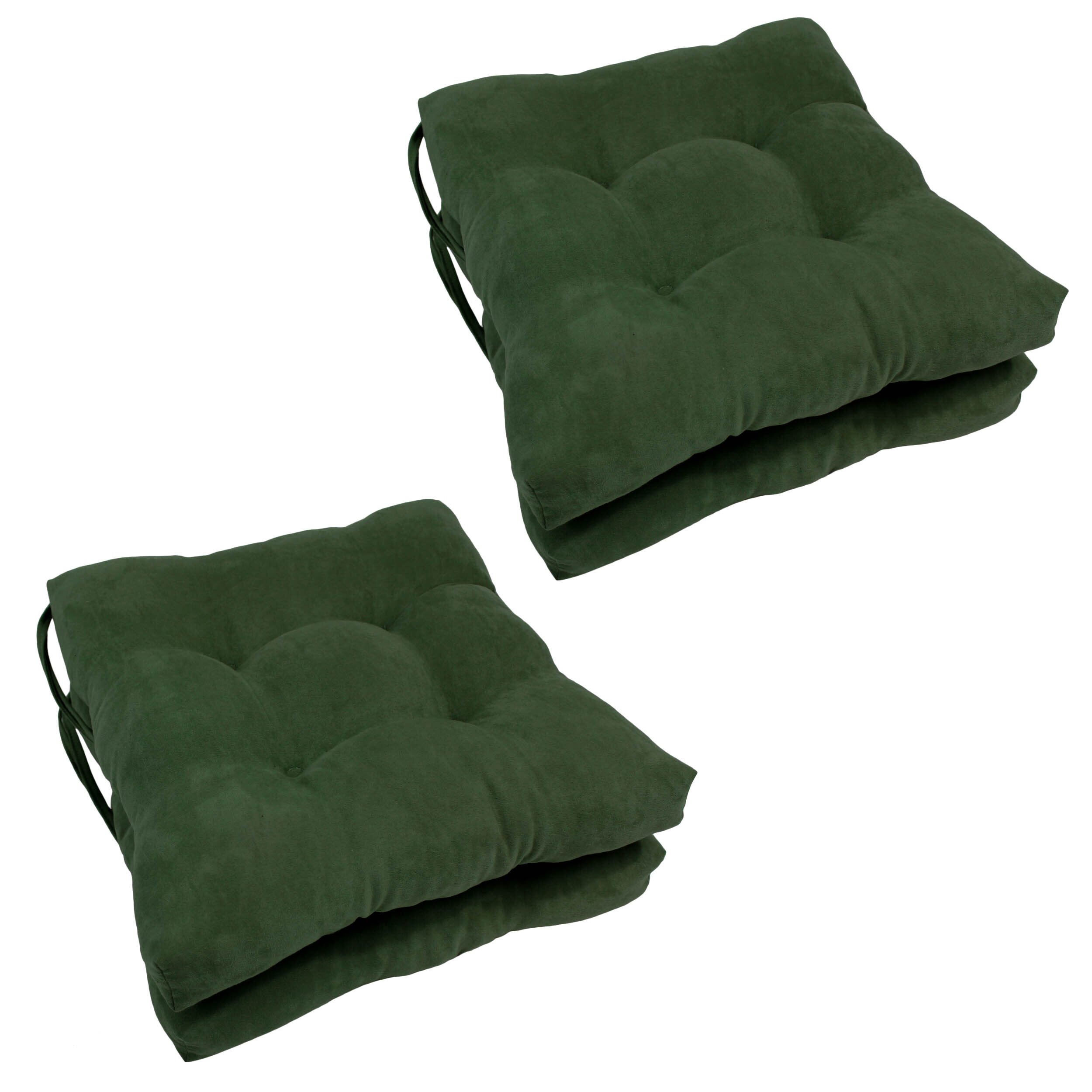 Blazing Needles Outdoor Dining Chair Cushion & Reviews