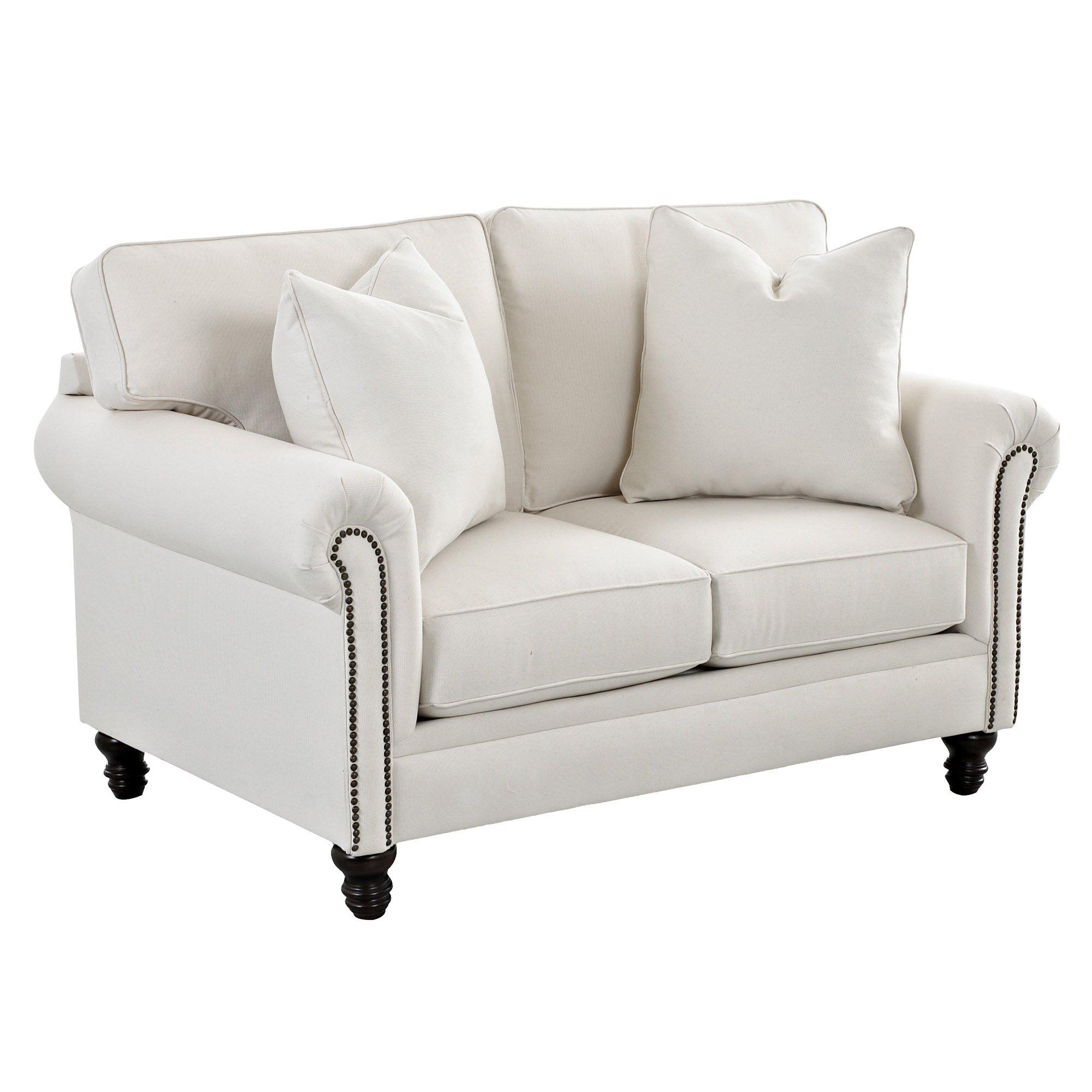 Wayfair Custom Upholstery Vivian Loveseat Reviews Wayfair