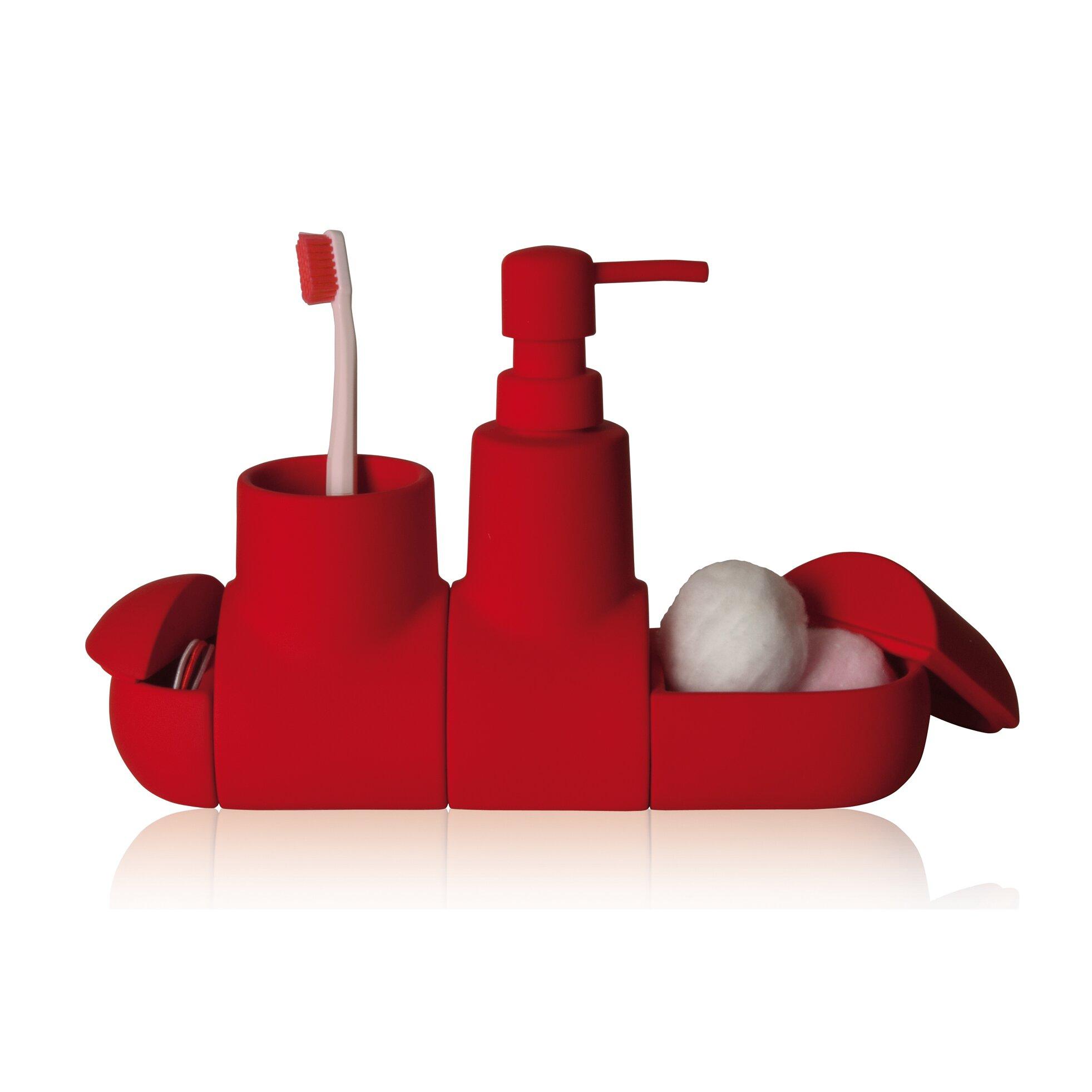 seletti submarino porcelain bathroom accessory set. Black Bedroom Furniture Sets. Home Design Ideas