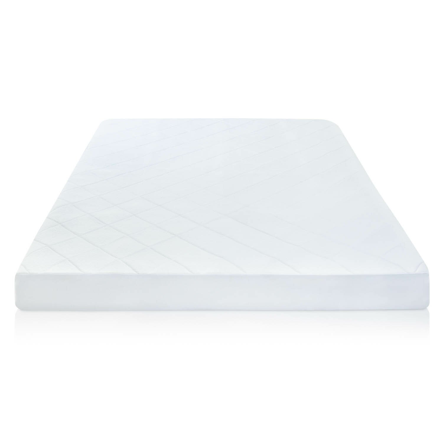 Lucid Quilted Memory Foam Mattress Pad & Reviews