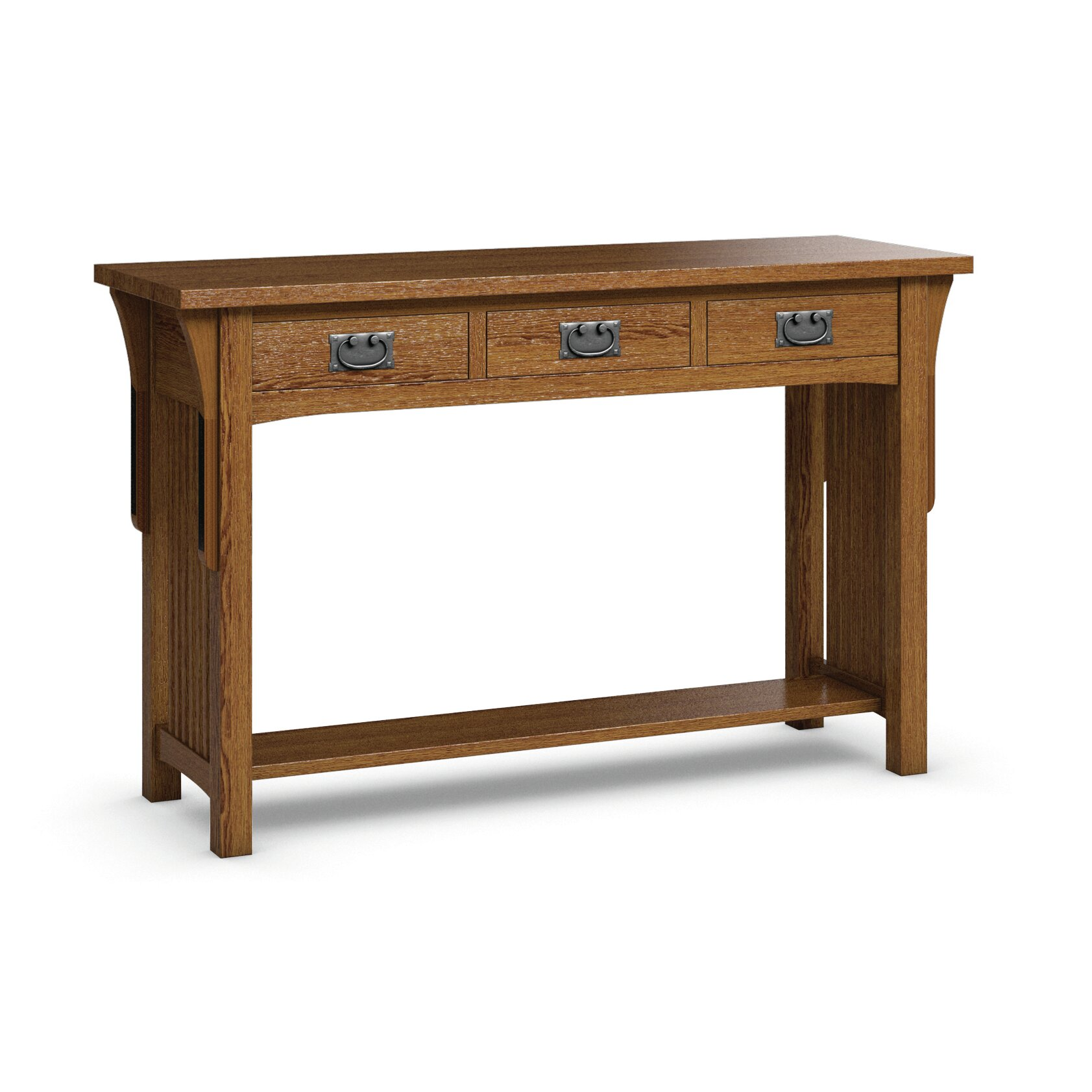Caravel FLW Sofa Table With Three Drawers & Reviews