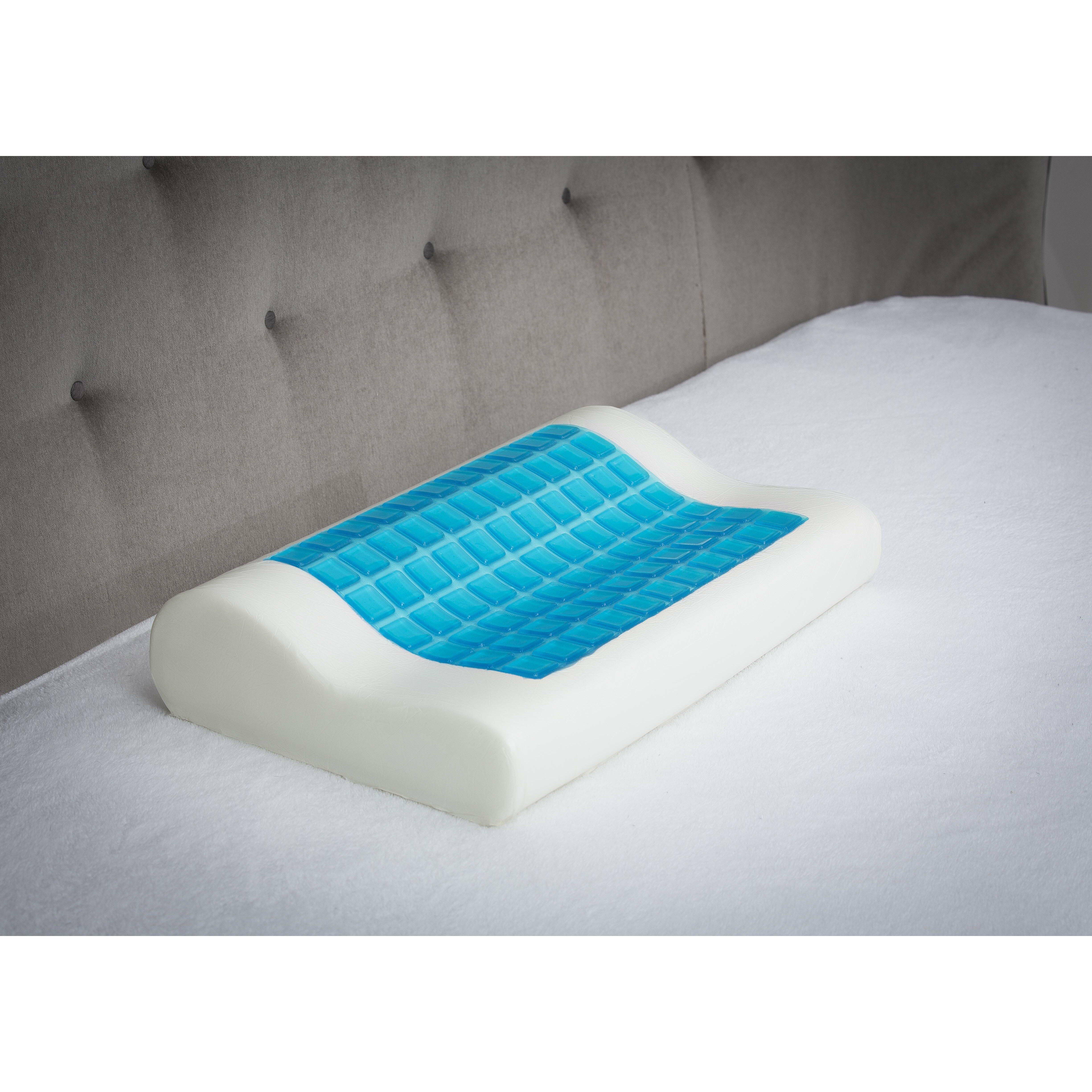 Modern Home Memory Foam Gel Pillow : Ergonomic Memory Foam Gel Pillow Wayfair