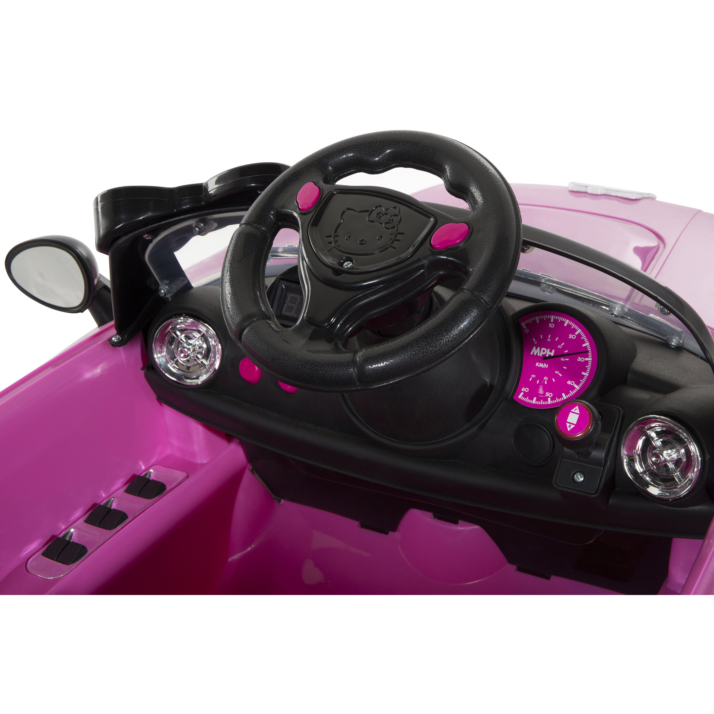 Hello Kitty Coupe V Battery Powered Car  DYNR