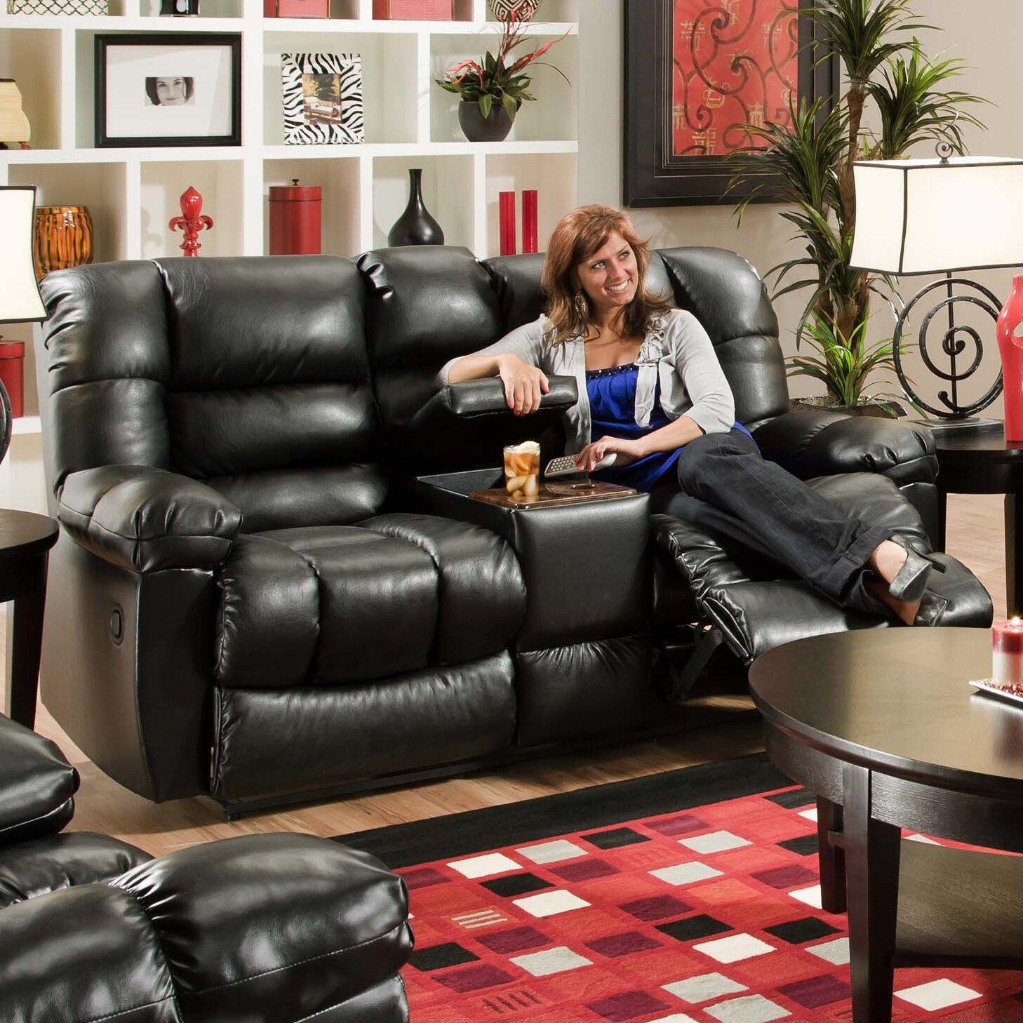 Brady Furniture Industries Harrison Recliner Loveseat