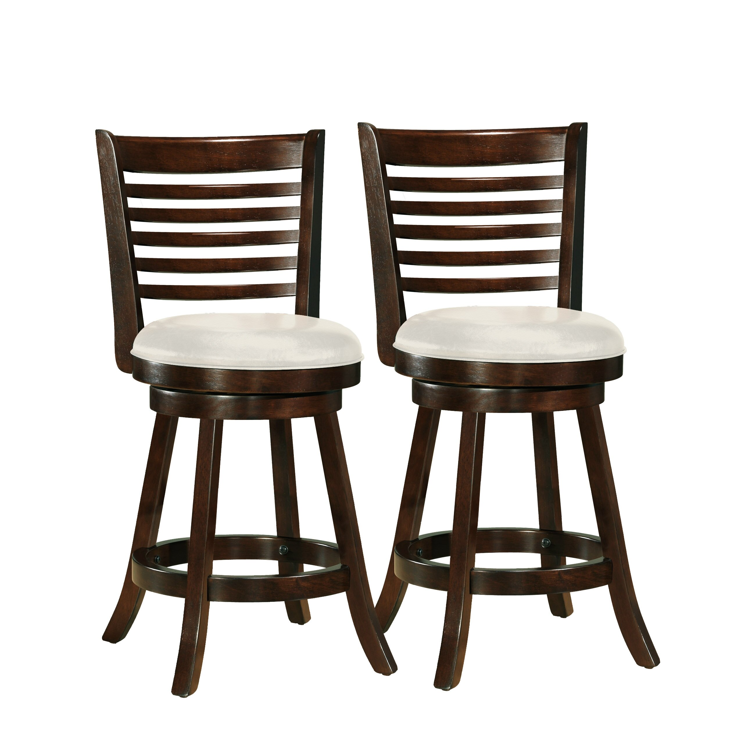 Amazing photo of  Woodgrove 24 Swivel Bar Stool with Cushion & Reviews Wayfair with #322115 color and 2550x2550 pixels