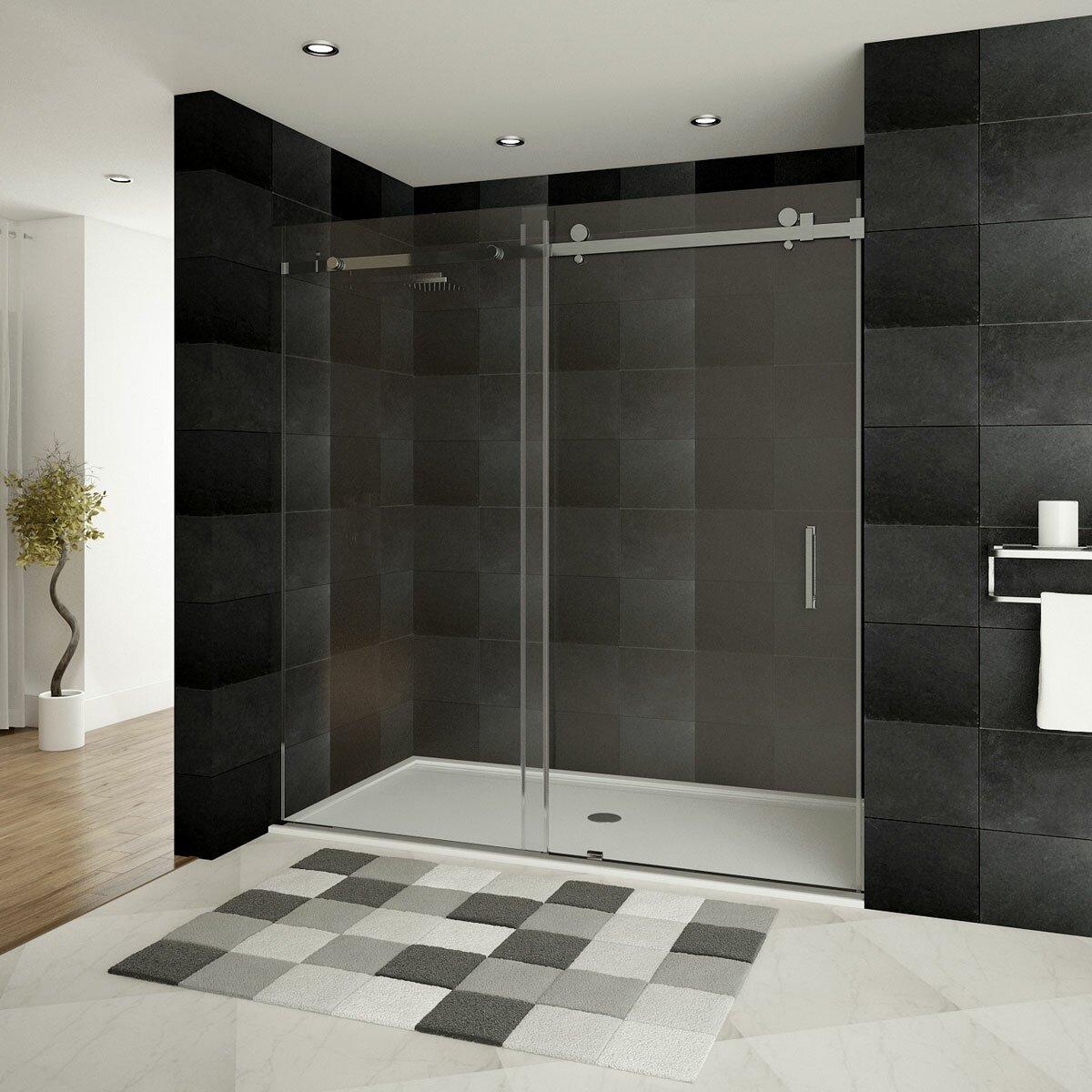 Panel Sliding Shower Doors Second