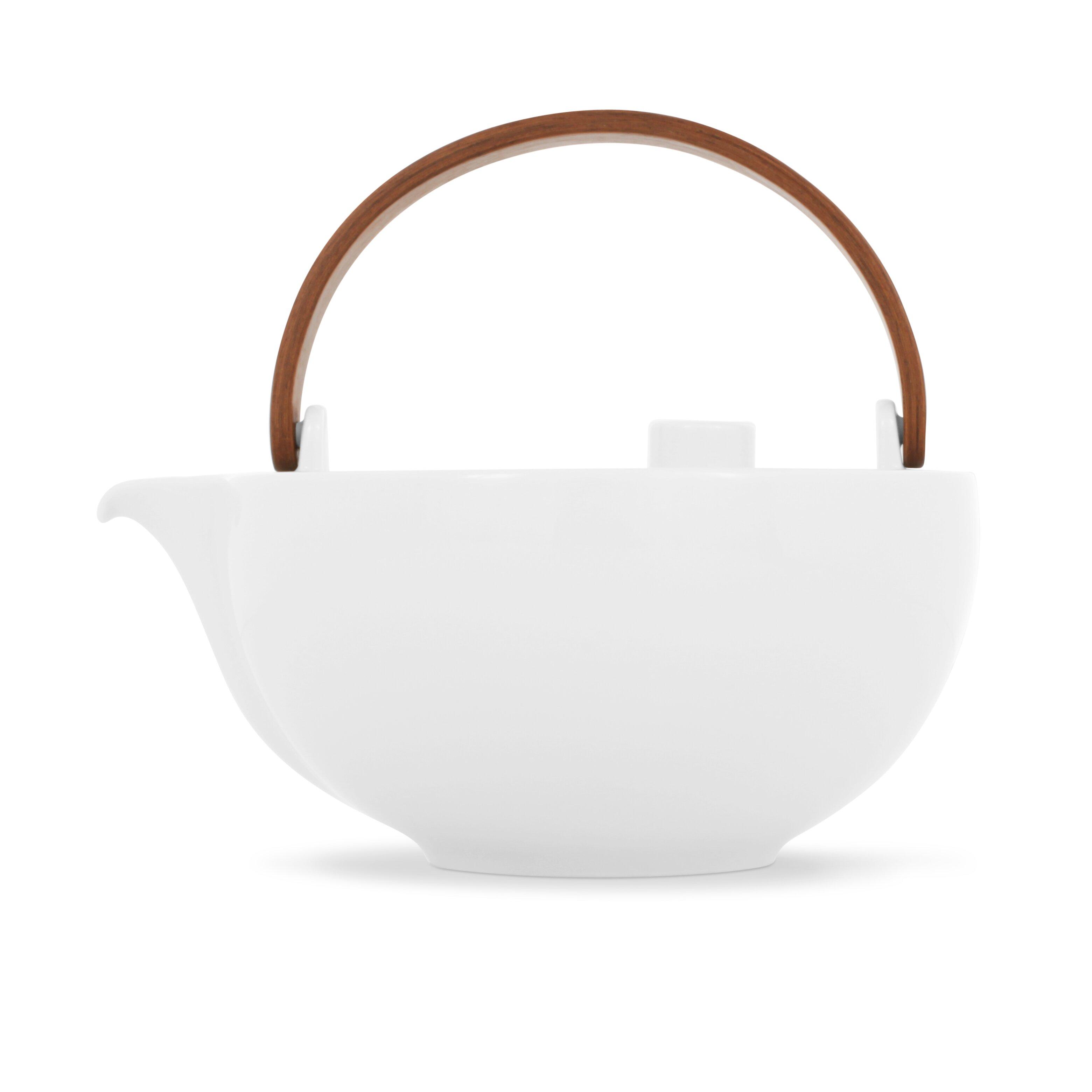 Friesland Chai Tea Pot With Wooden Handle & Reviews