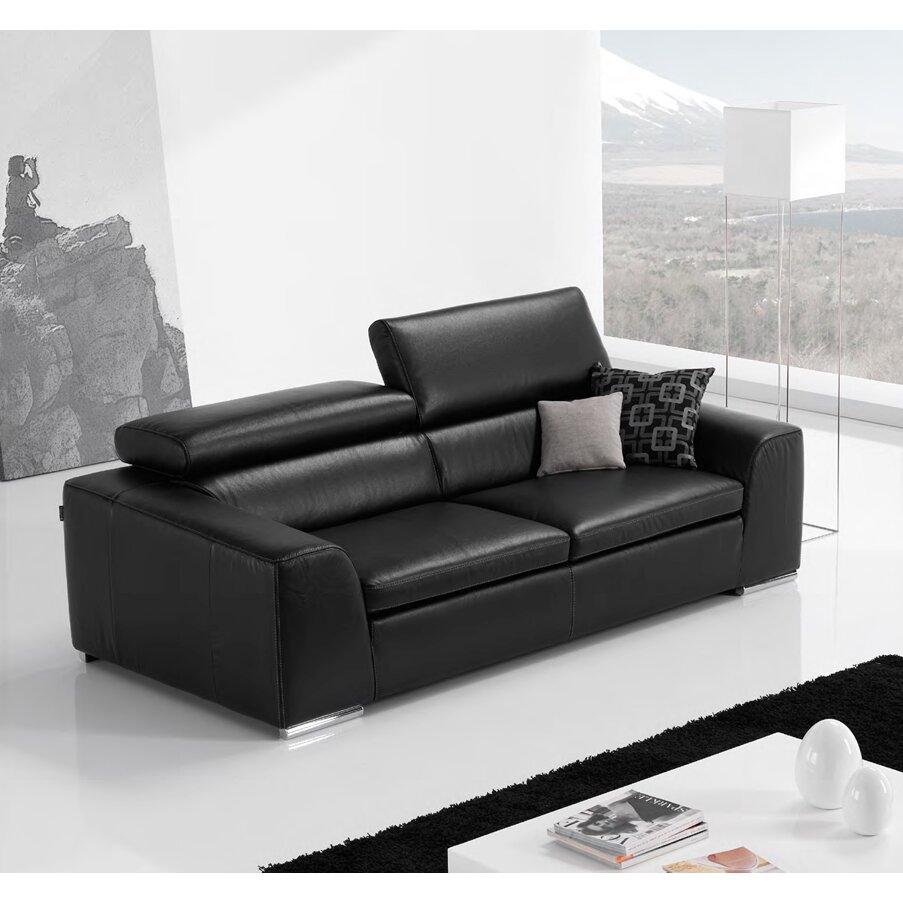 celine black leather sofa celine uk online shop. Black Bedroom Furniture Sets. Home Design Ideas