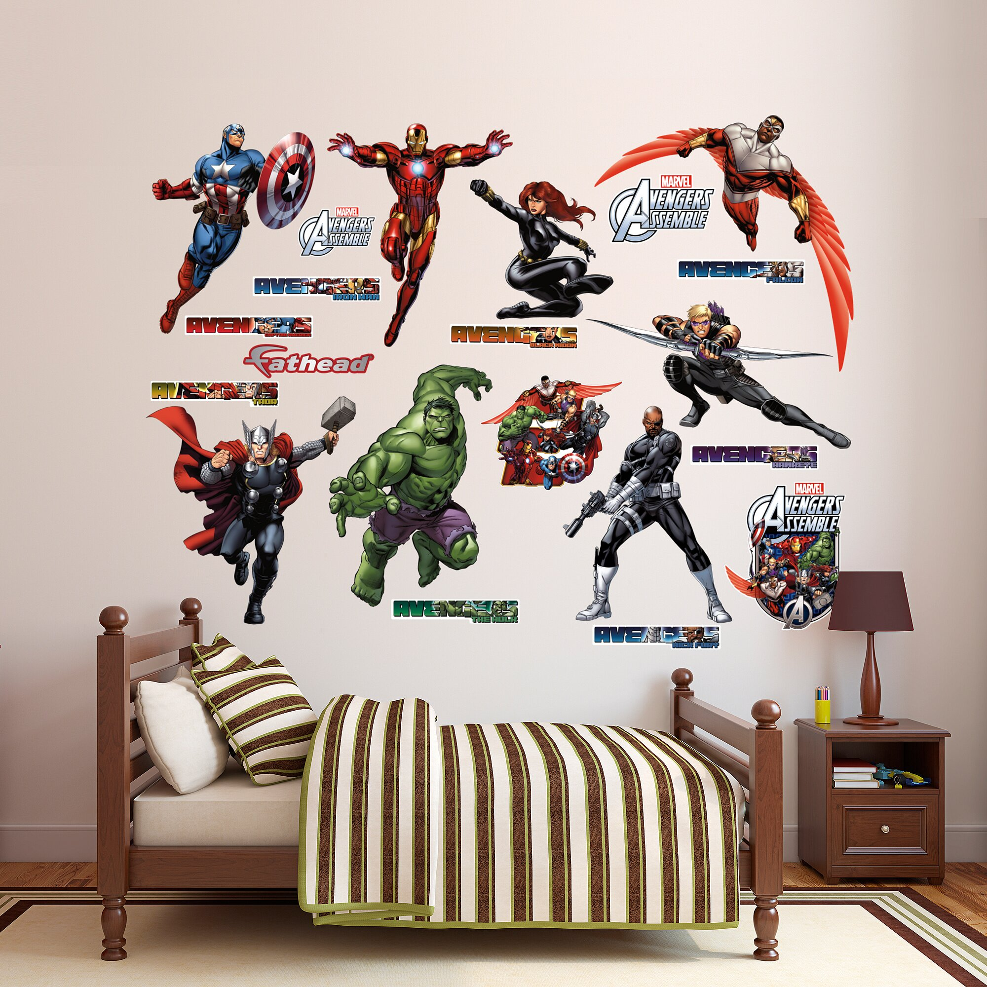 Fathead RealBig Marvel Avengers Assemble Wall Decal