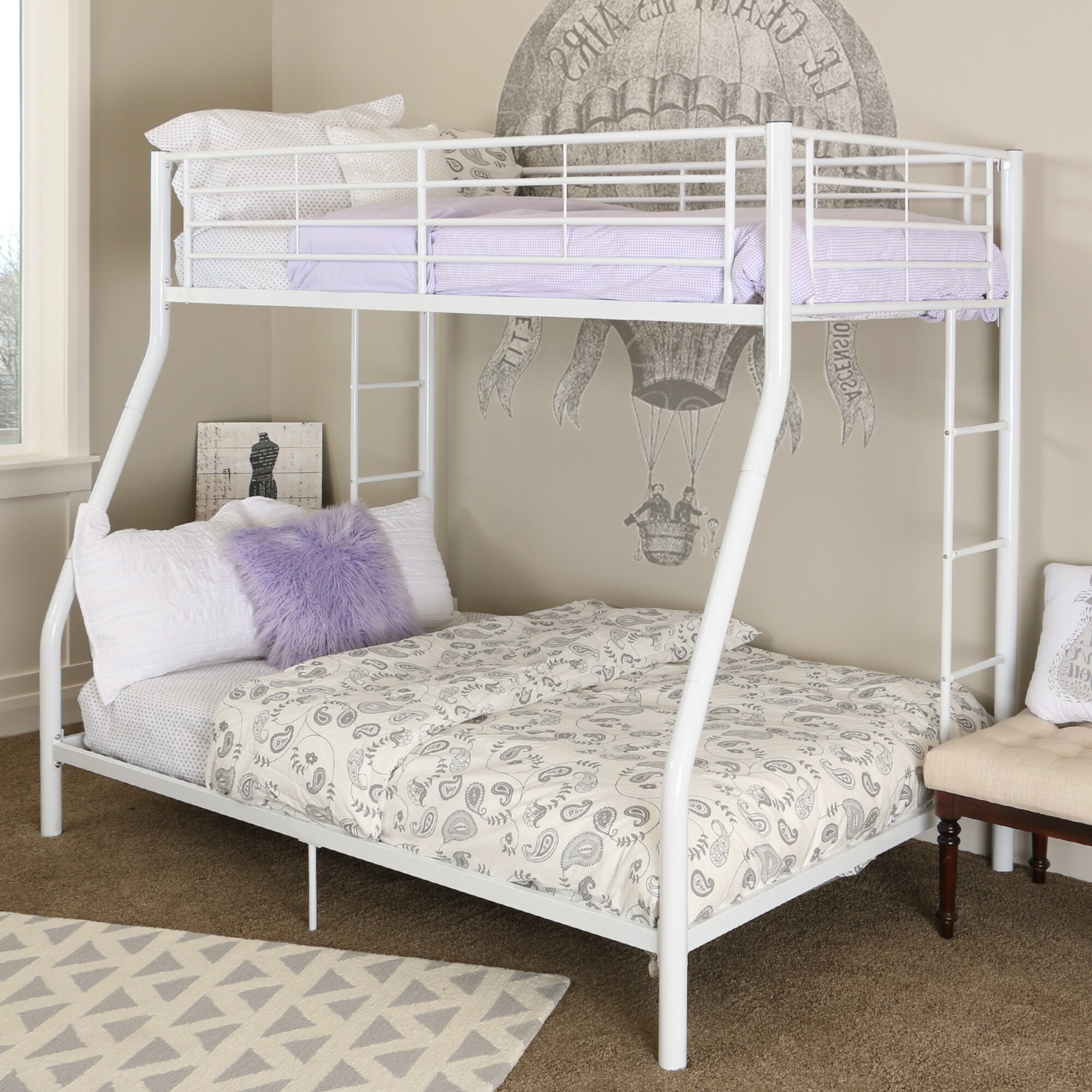Sunrise Twin Over Twin Bunk Bed