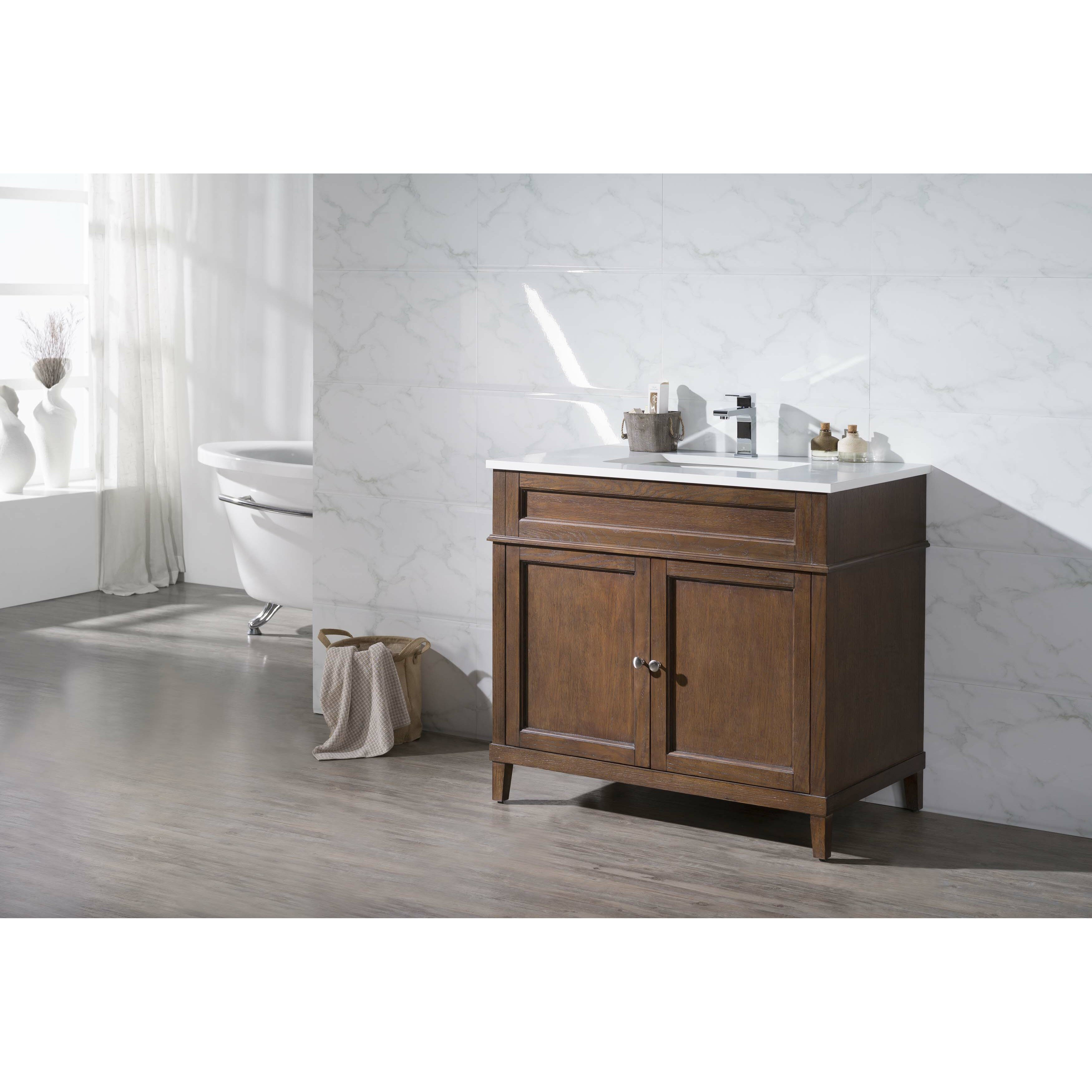 Home Loft Concepts Hamilton 37 Single Sink Bathroom Vanity Set Reviews Wayfair