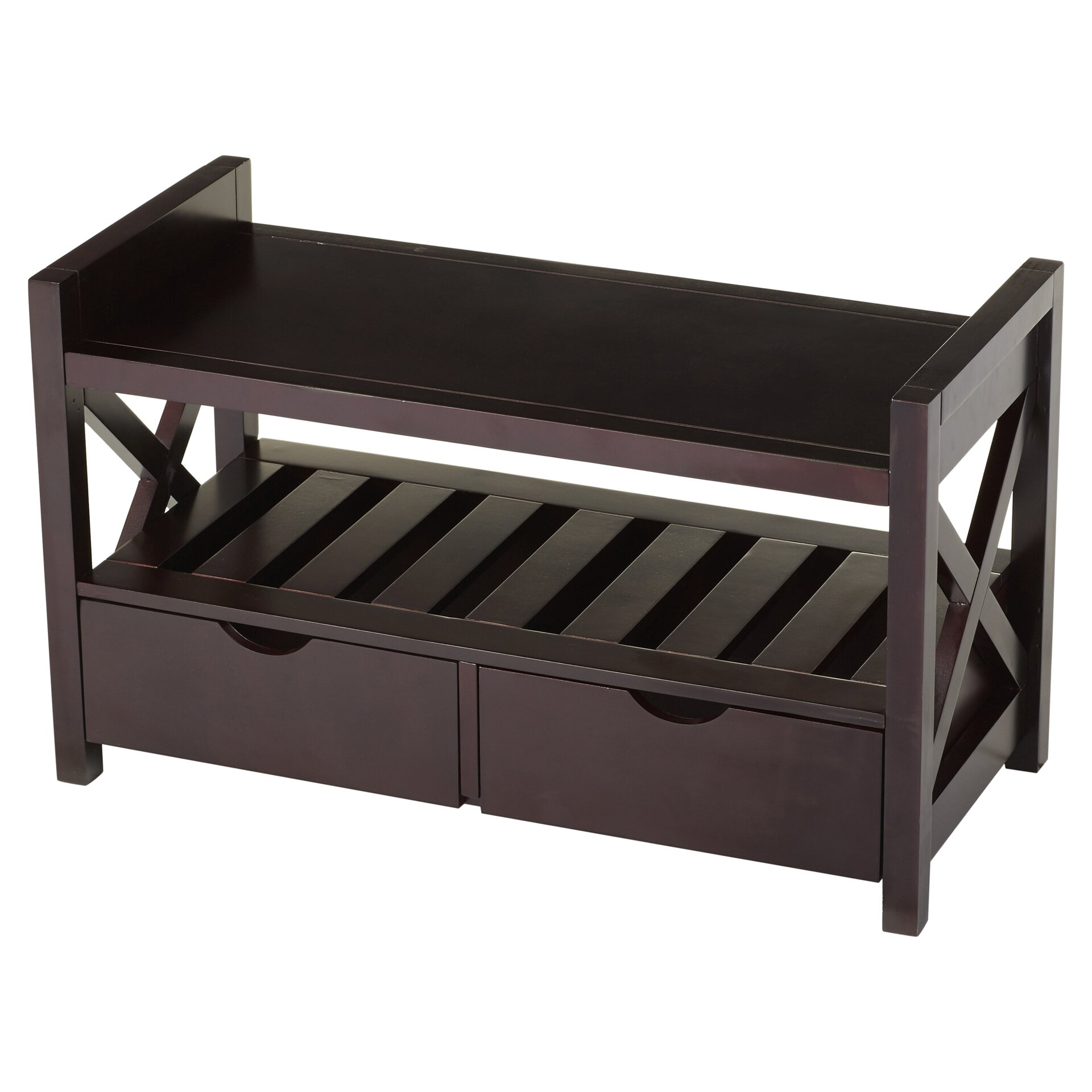 Andover mills cyril storage entryway bench amp reviews wayfair