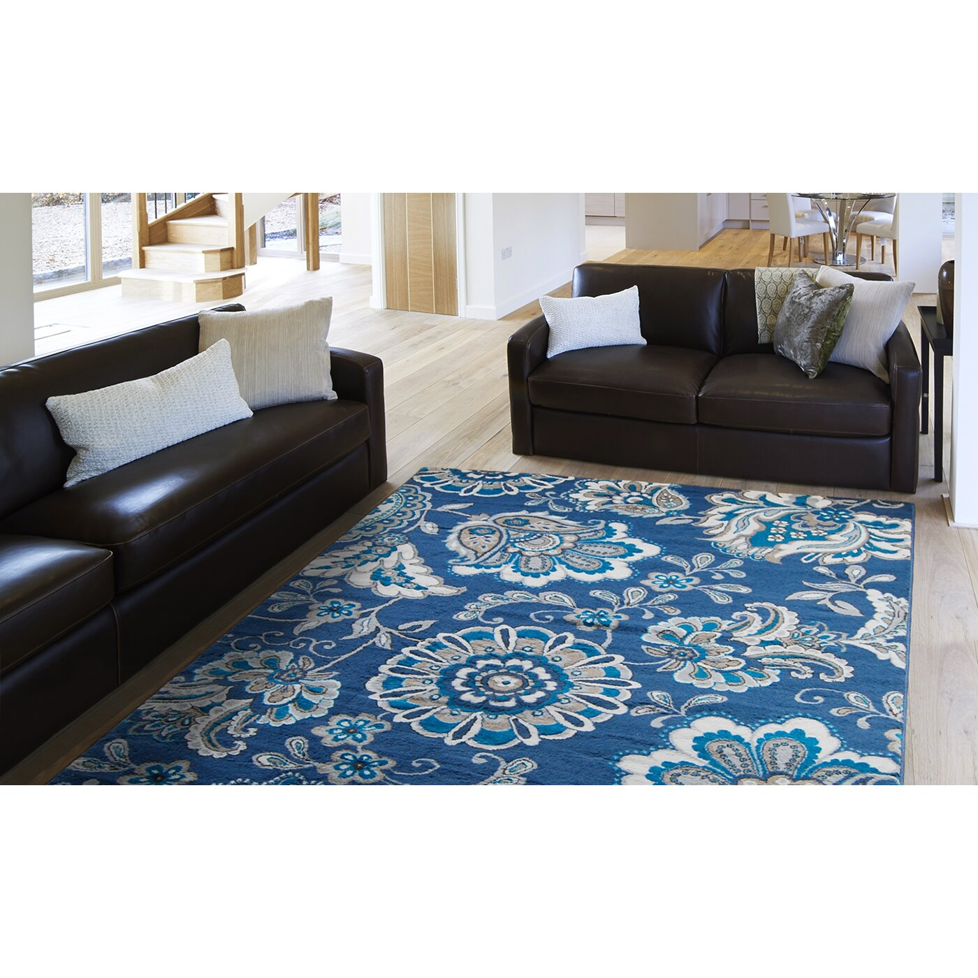 Andover Mills Tremont Blue Area Rug Amp Reviews Wayfair Supply