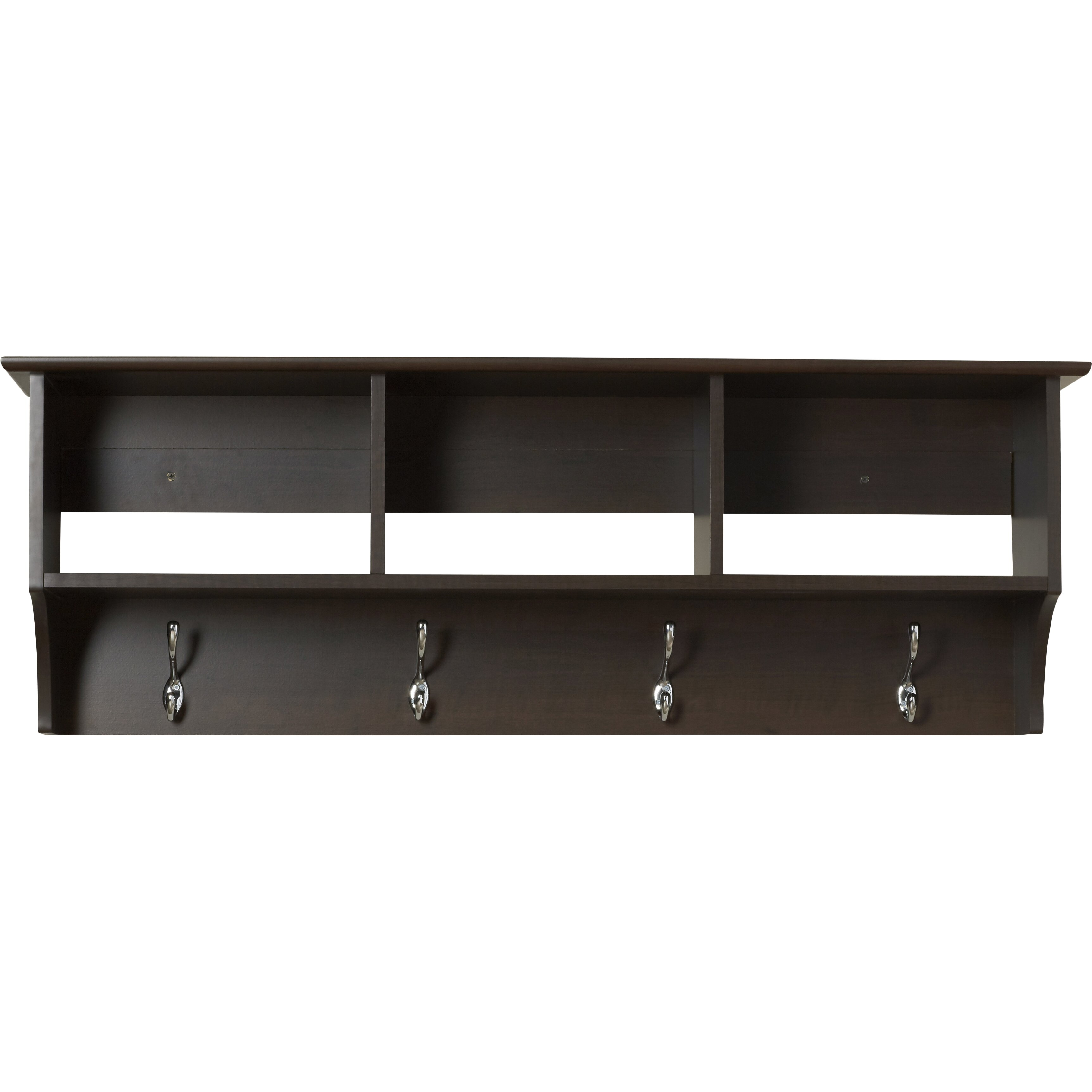 andover mills wall mounted coat rack reviews wayfair supply. Black Bedroom Furniture Sets. Home Design Ideas