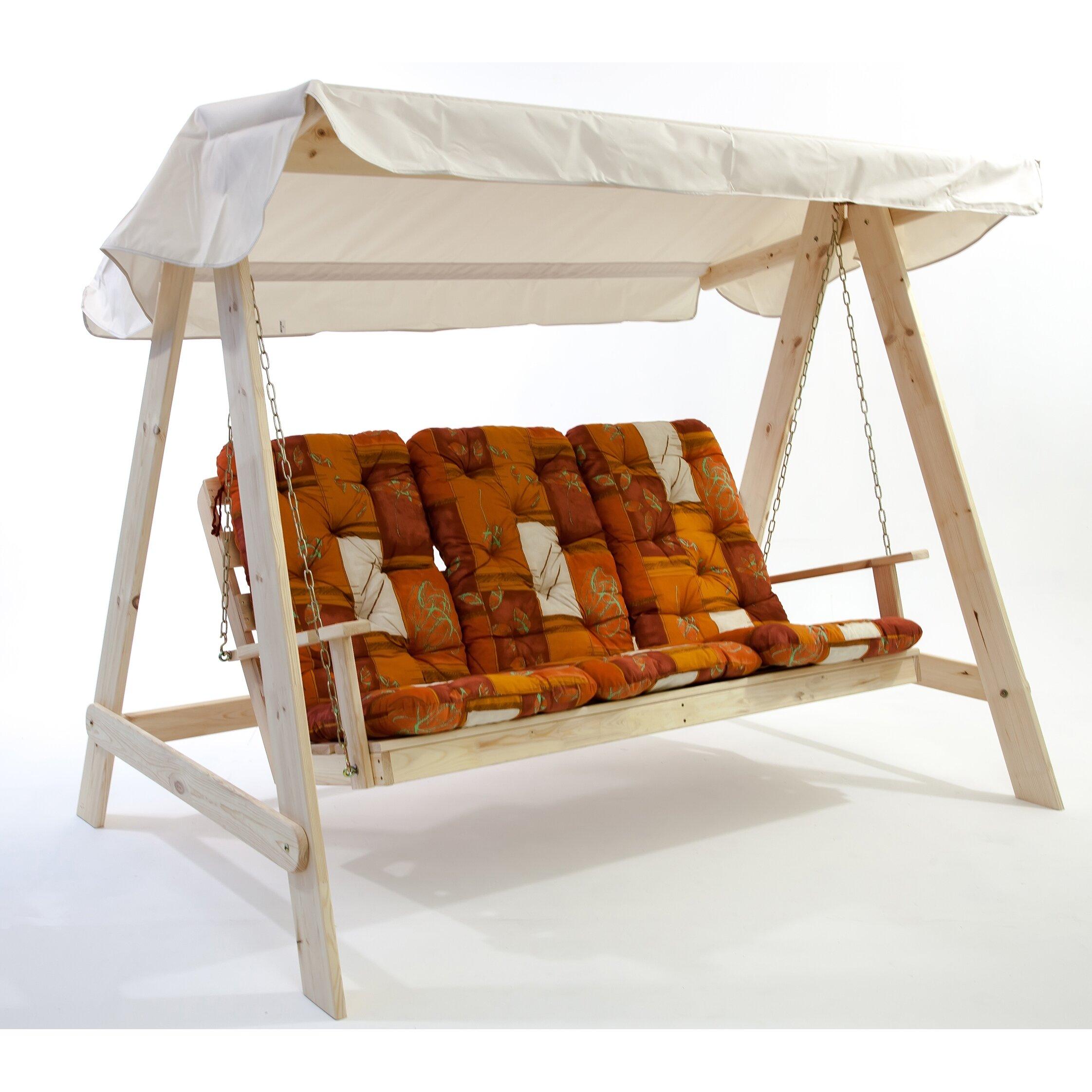 hollywoodschaukel vetlanda mit auflage von caracella. Black Bedroom Furniture Sets. Home Design Ideas