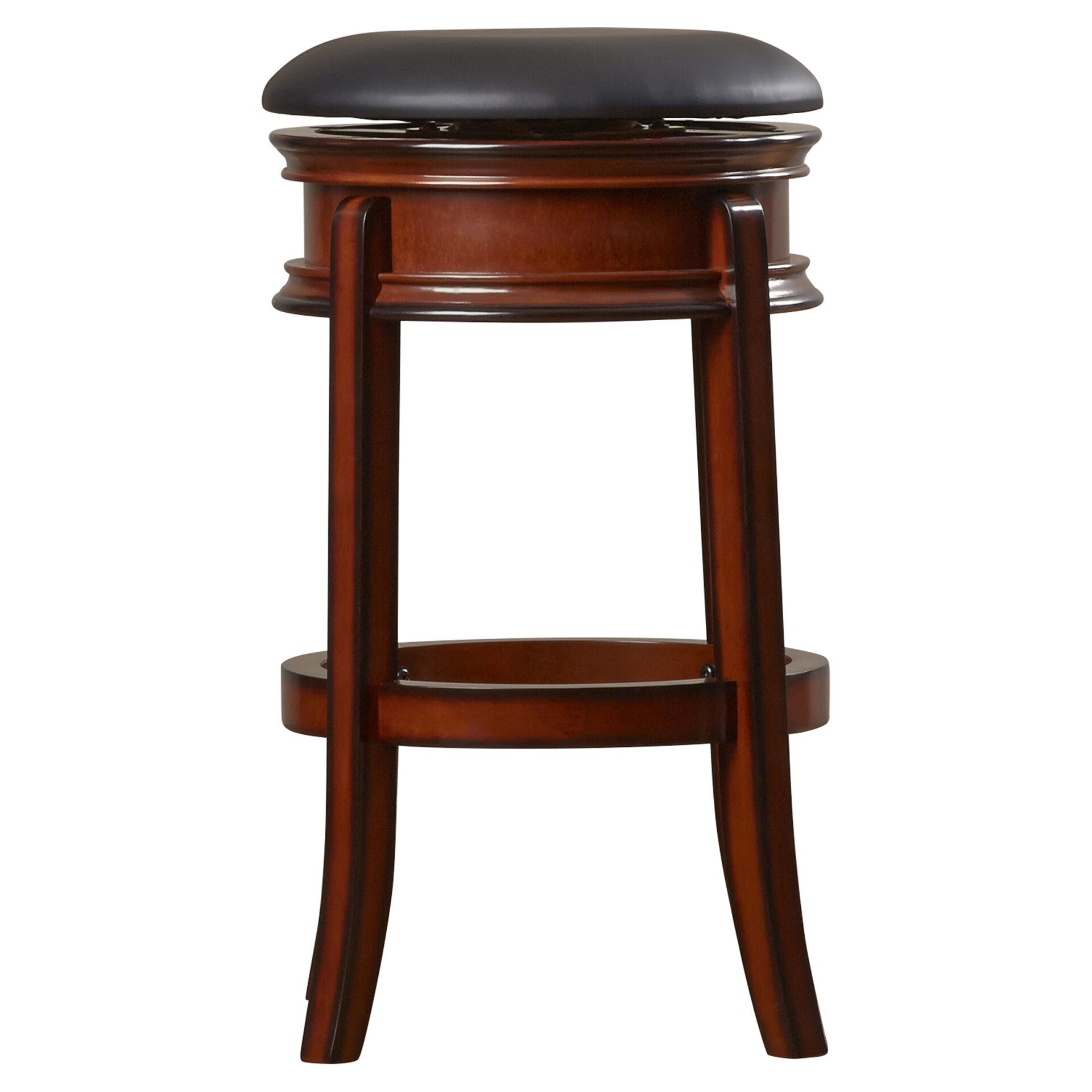 posts shenandoah 29 swivel bar stool with cushion reviews w